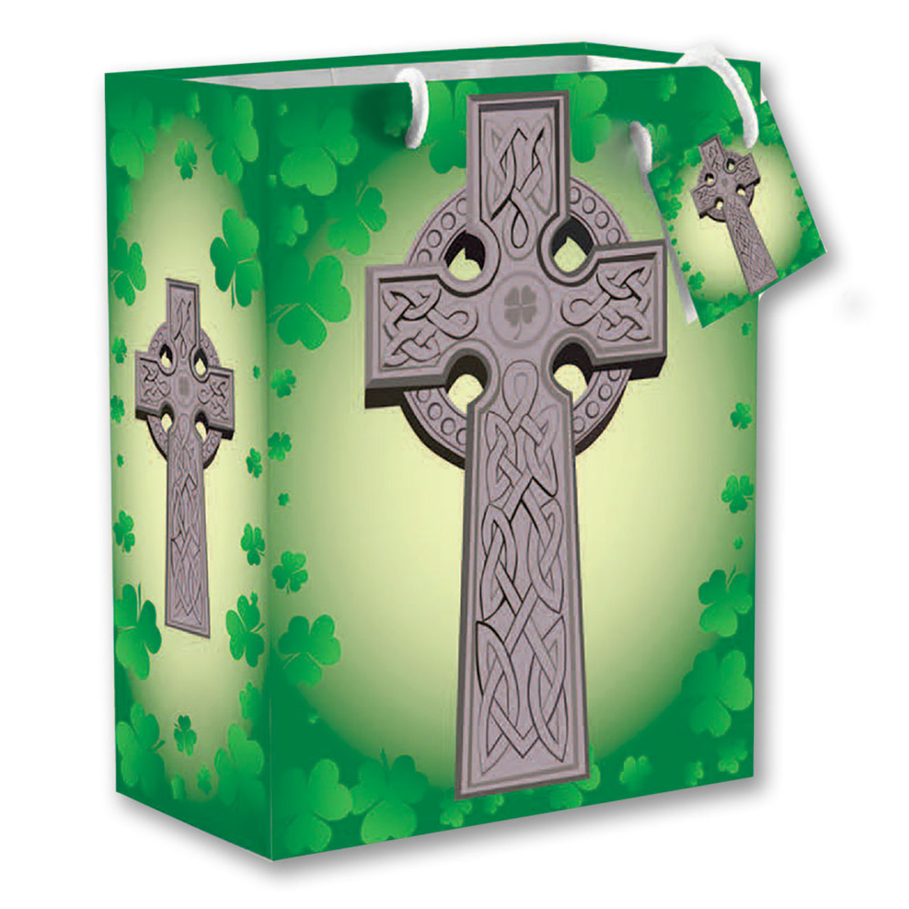 Celtic Cross Gift Bag Small