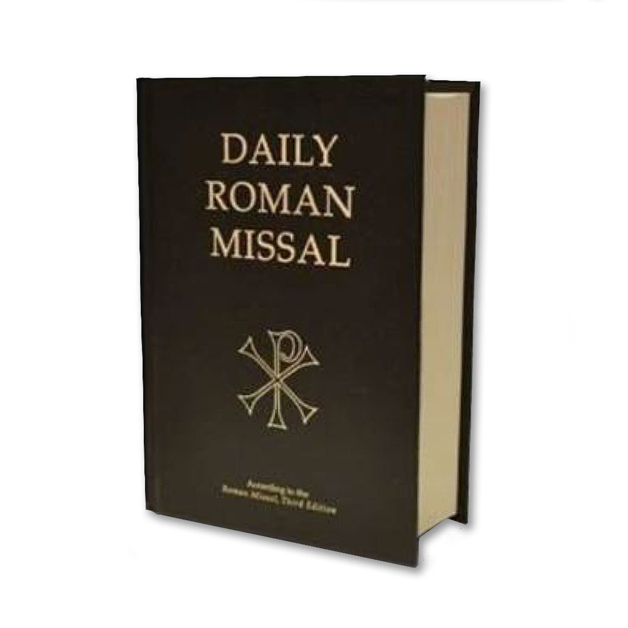 Rev. 7th Edition Daily Roman Missal with Black Hardcover