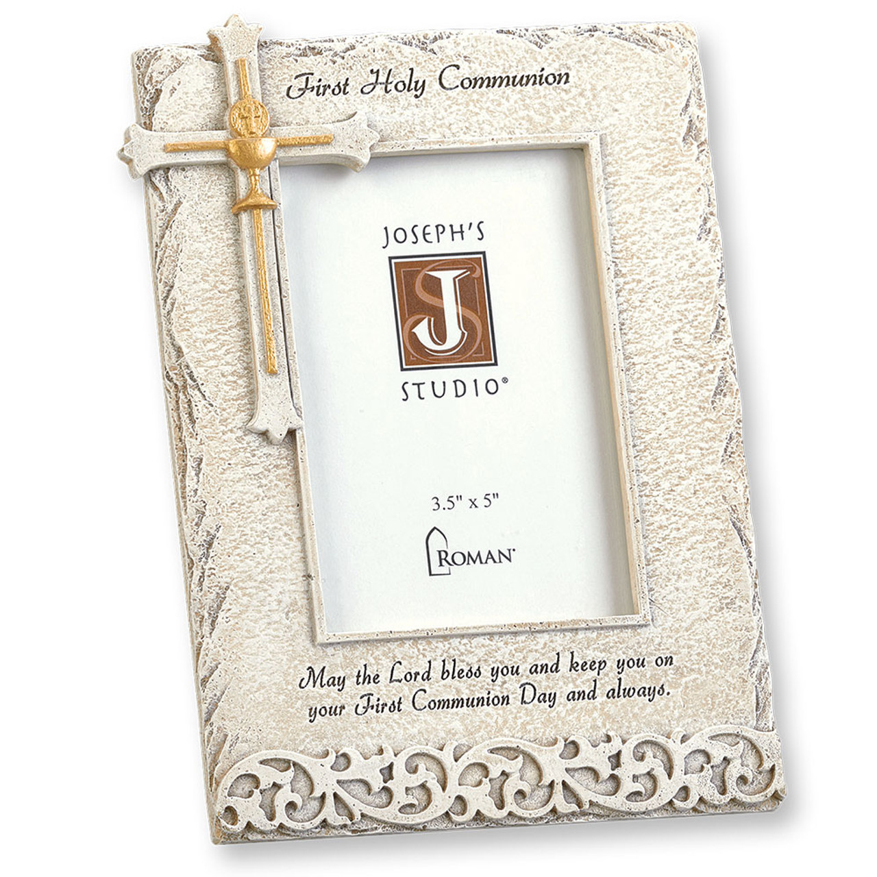 First Communion Stone-look Frame