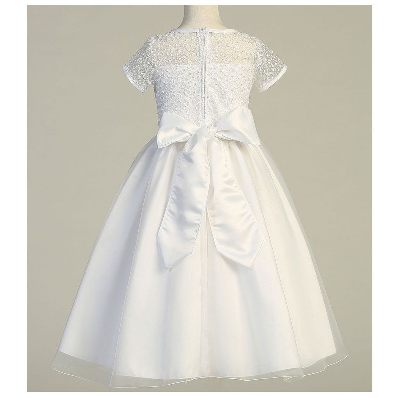 First Communion Dress Teresa with Embellished Tulle