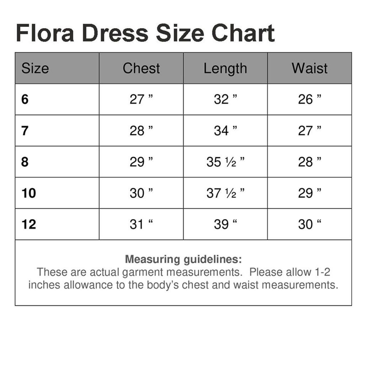 First Communion Dress Flora with Chiffon Flowers