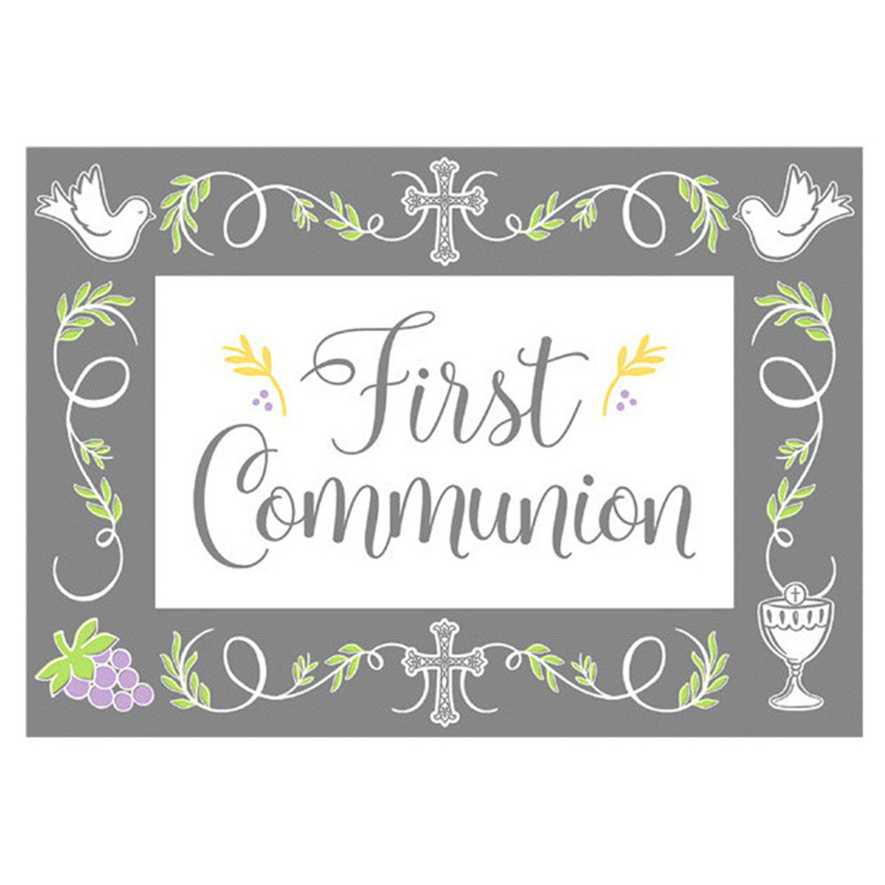 First Communion Blessing Cards