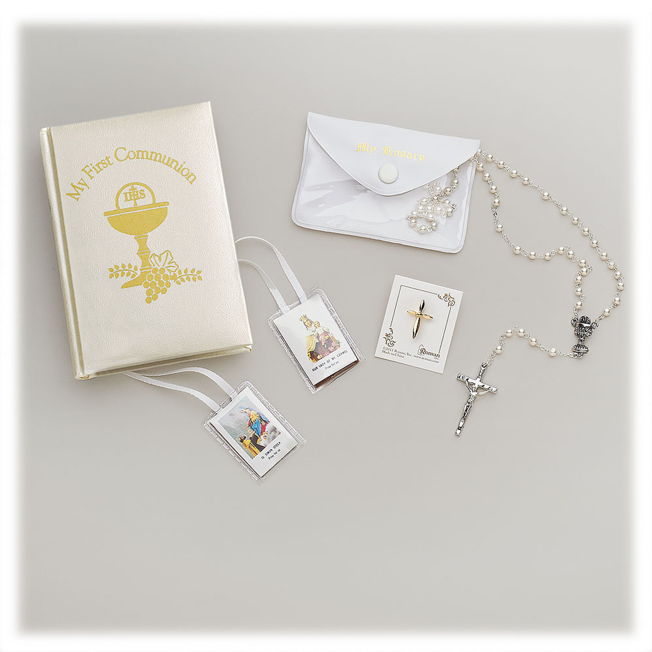 Girl's First Communion Missal Gift Set