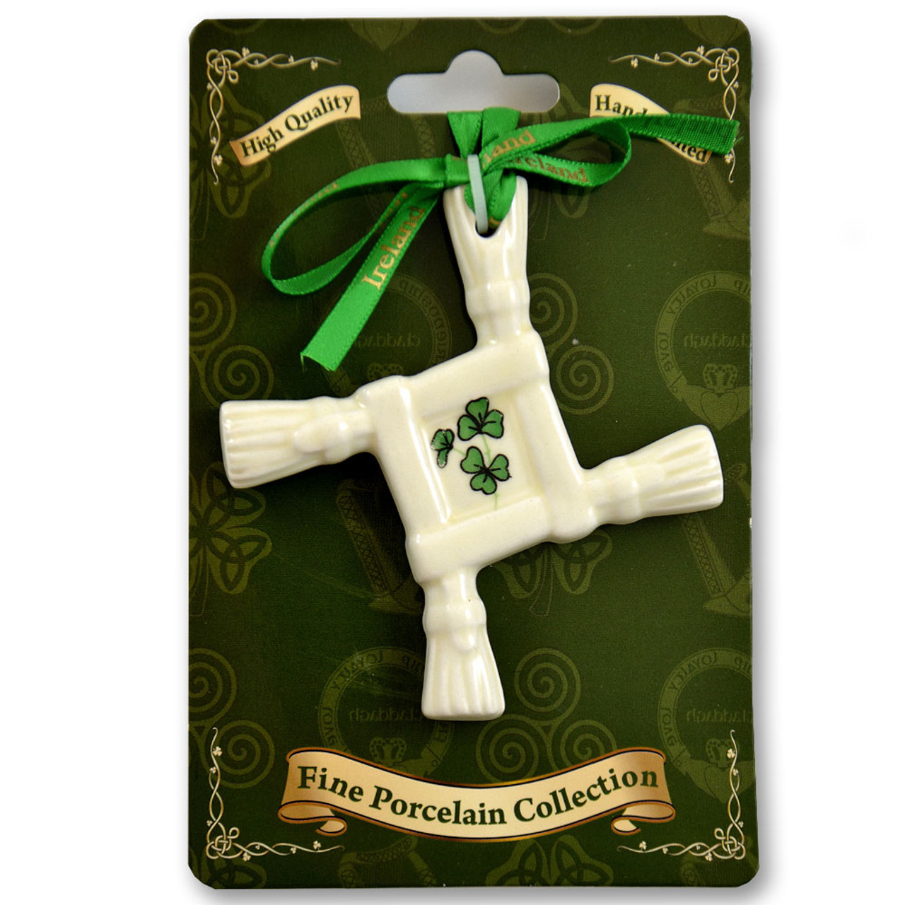 Porcelain Irish Hanging Ornaments - Sold Separately
