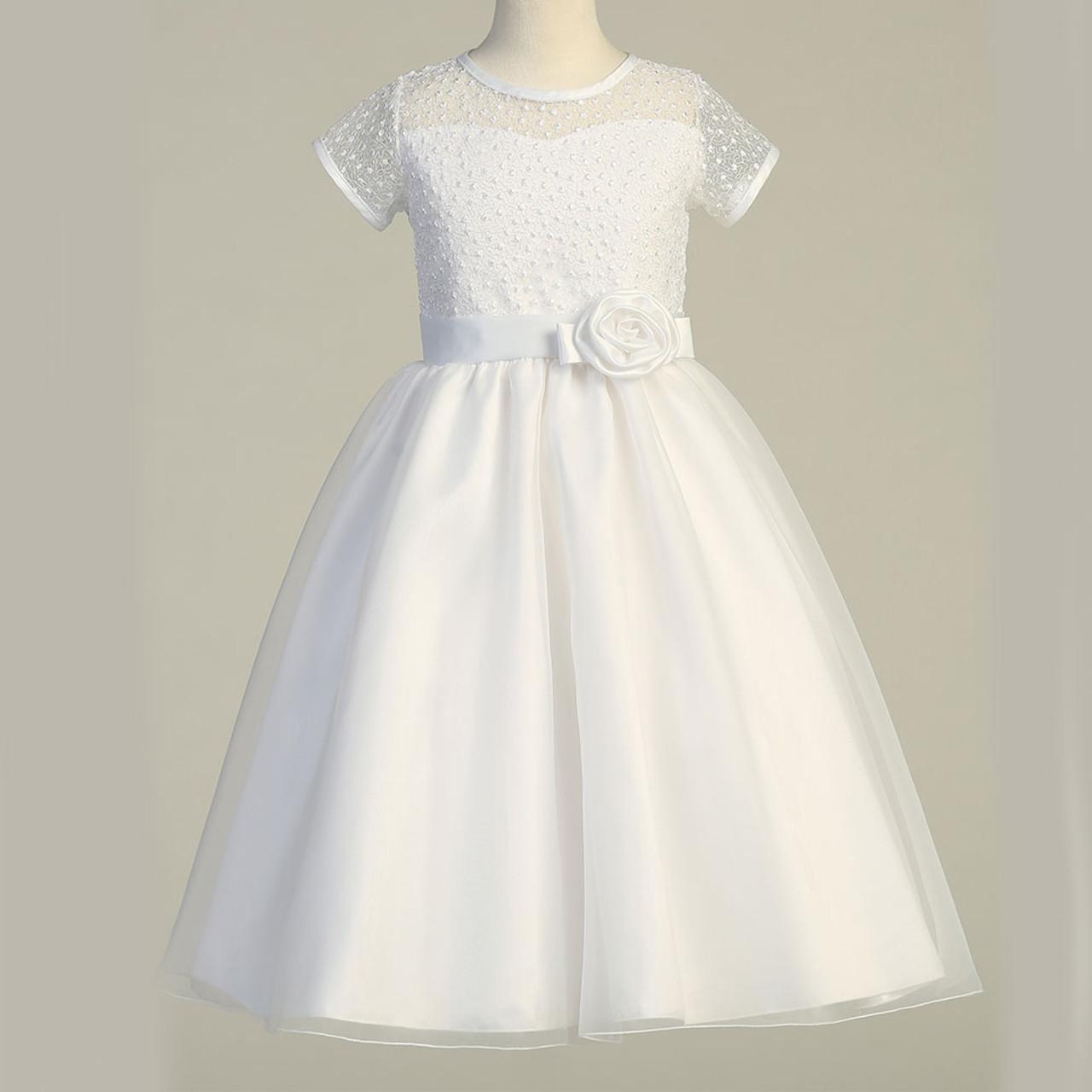 Full Figure Teresa First Communion Dress