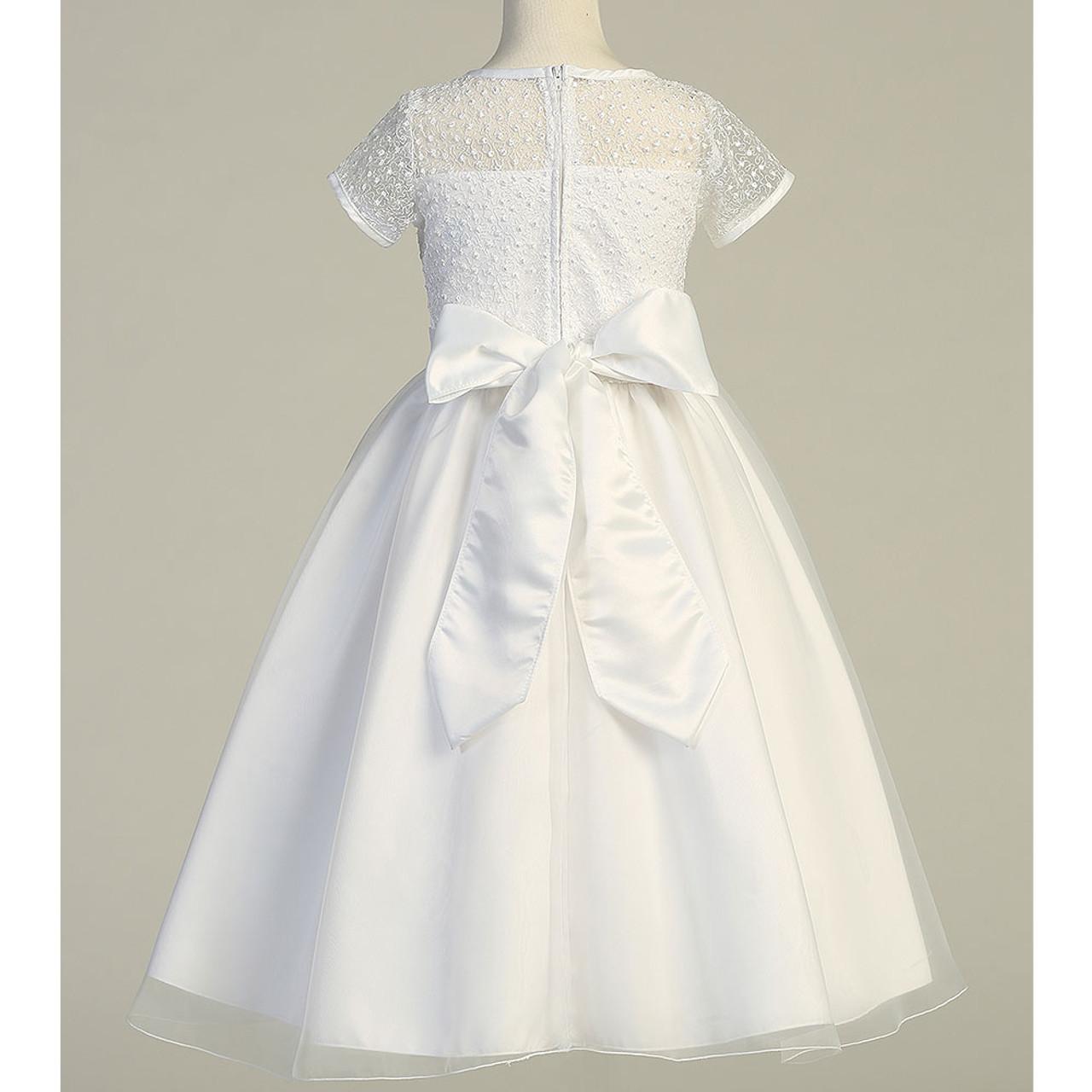 Teresa, Extended Sizes, First Communion Dress