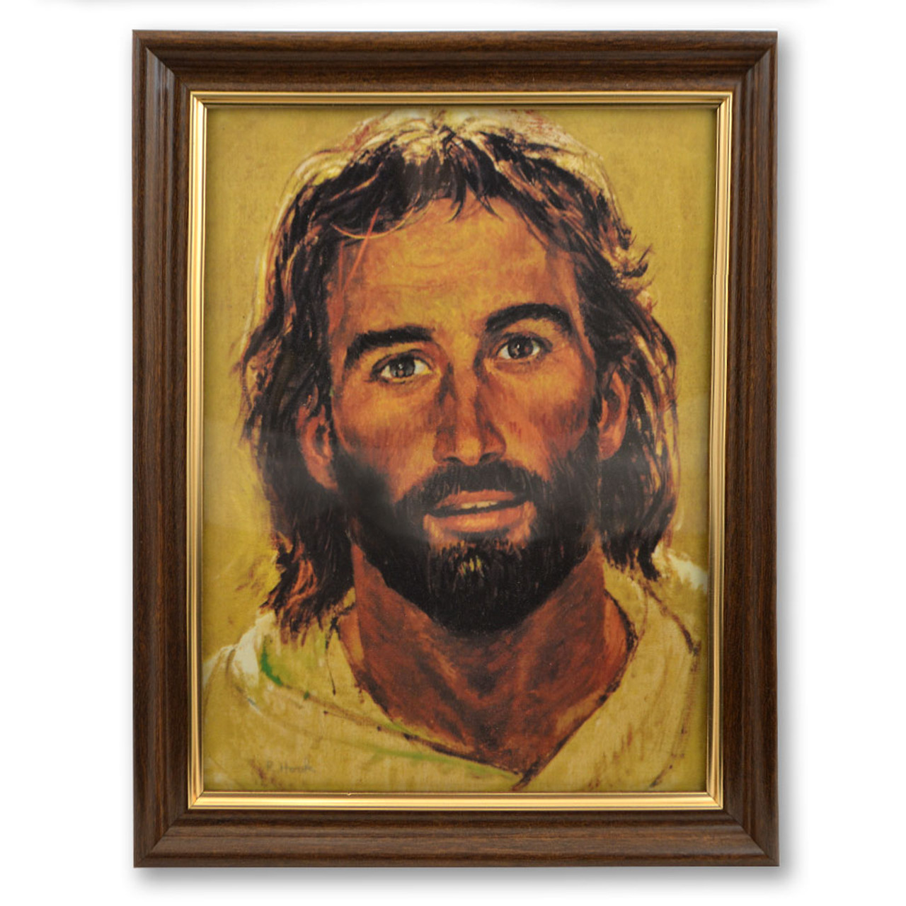 Head of Christ Picture Framed
