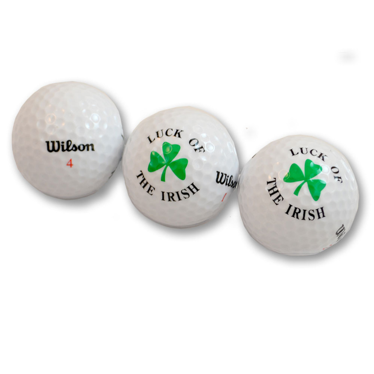 Lucky Irish Golf Balls