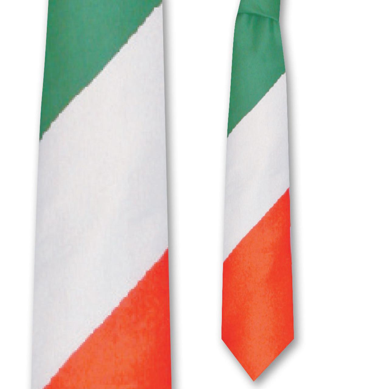 Tri-Color Irish Tie