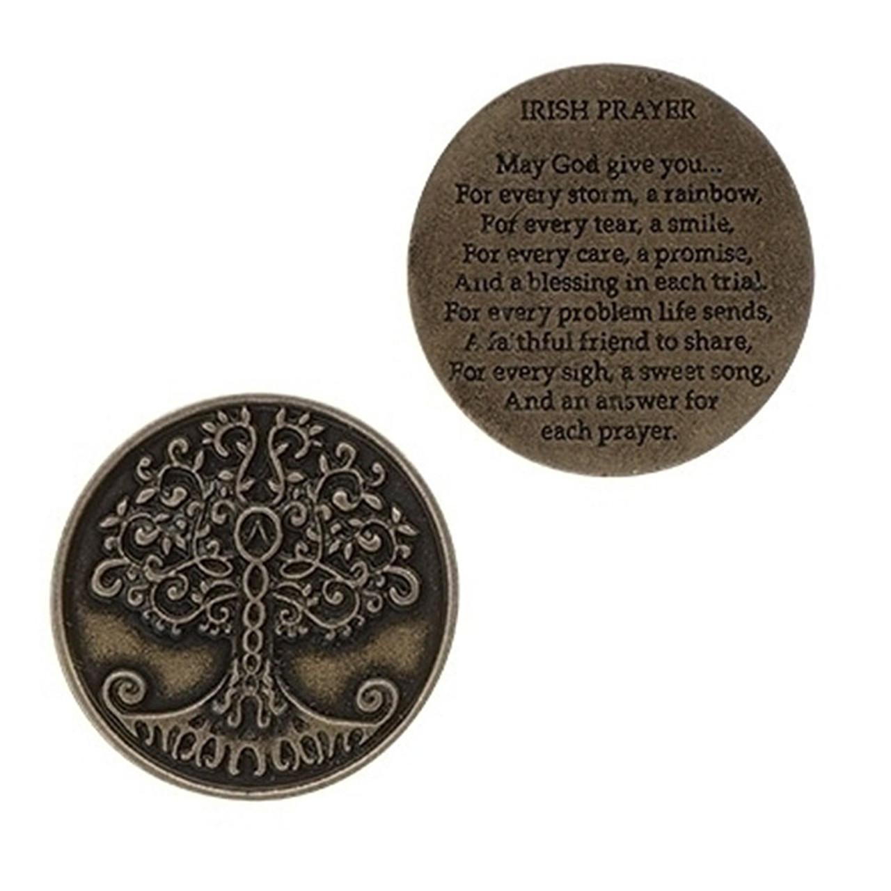 Irish Tree of Life Pocket Token