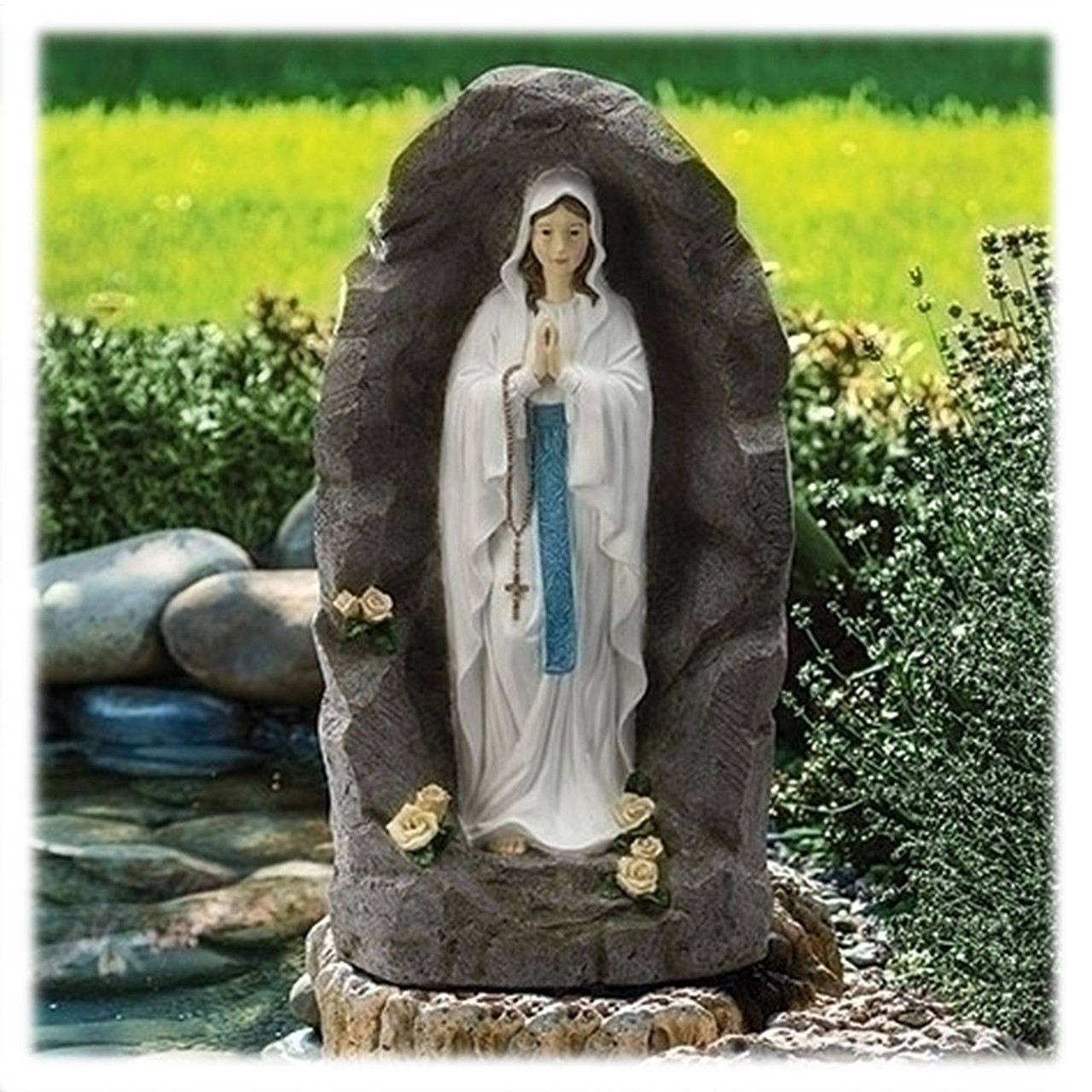 Our Lady of Lourdes Garden Statue 36 IN