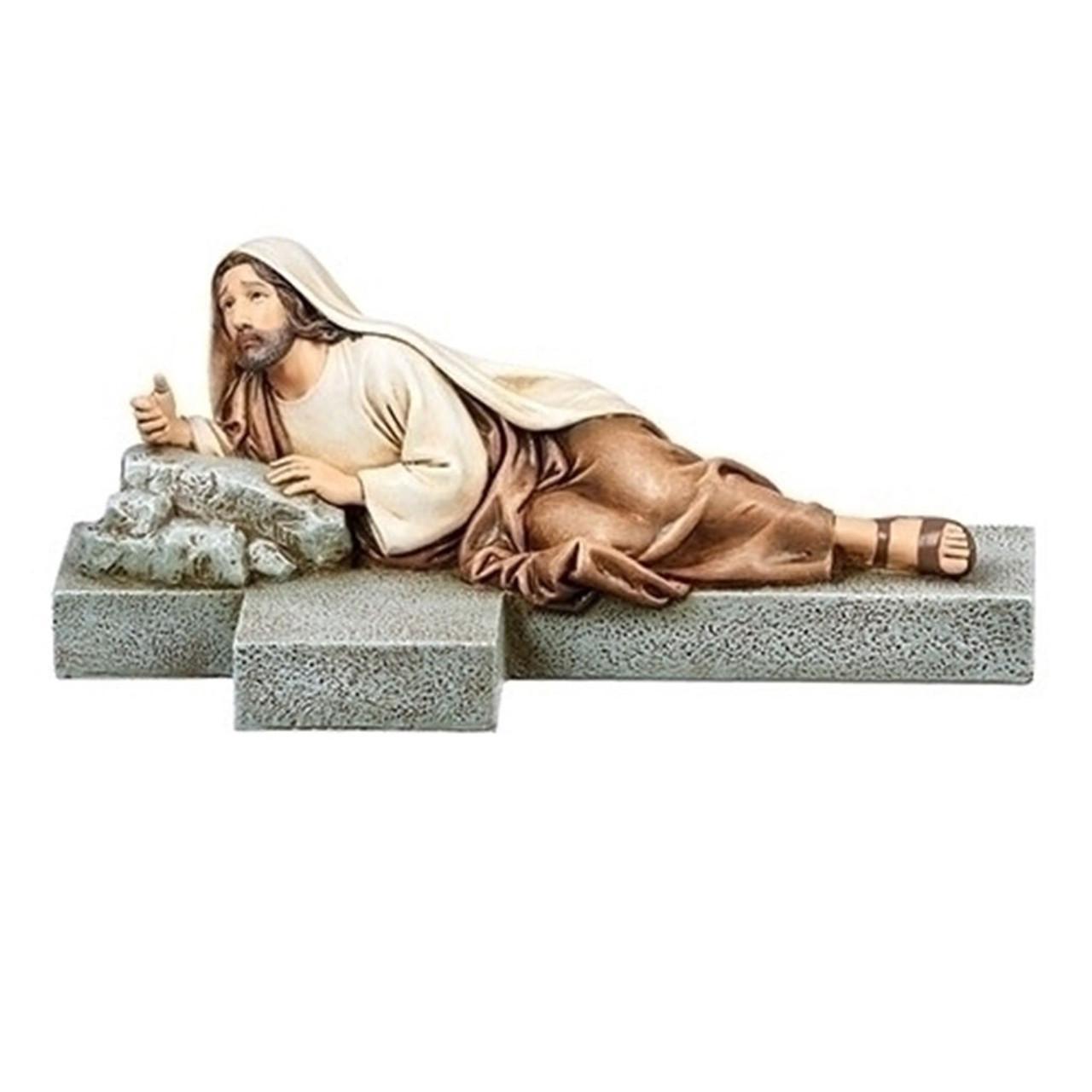 Imploring Jesus Statue 8.25 IN
