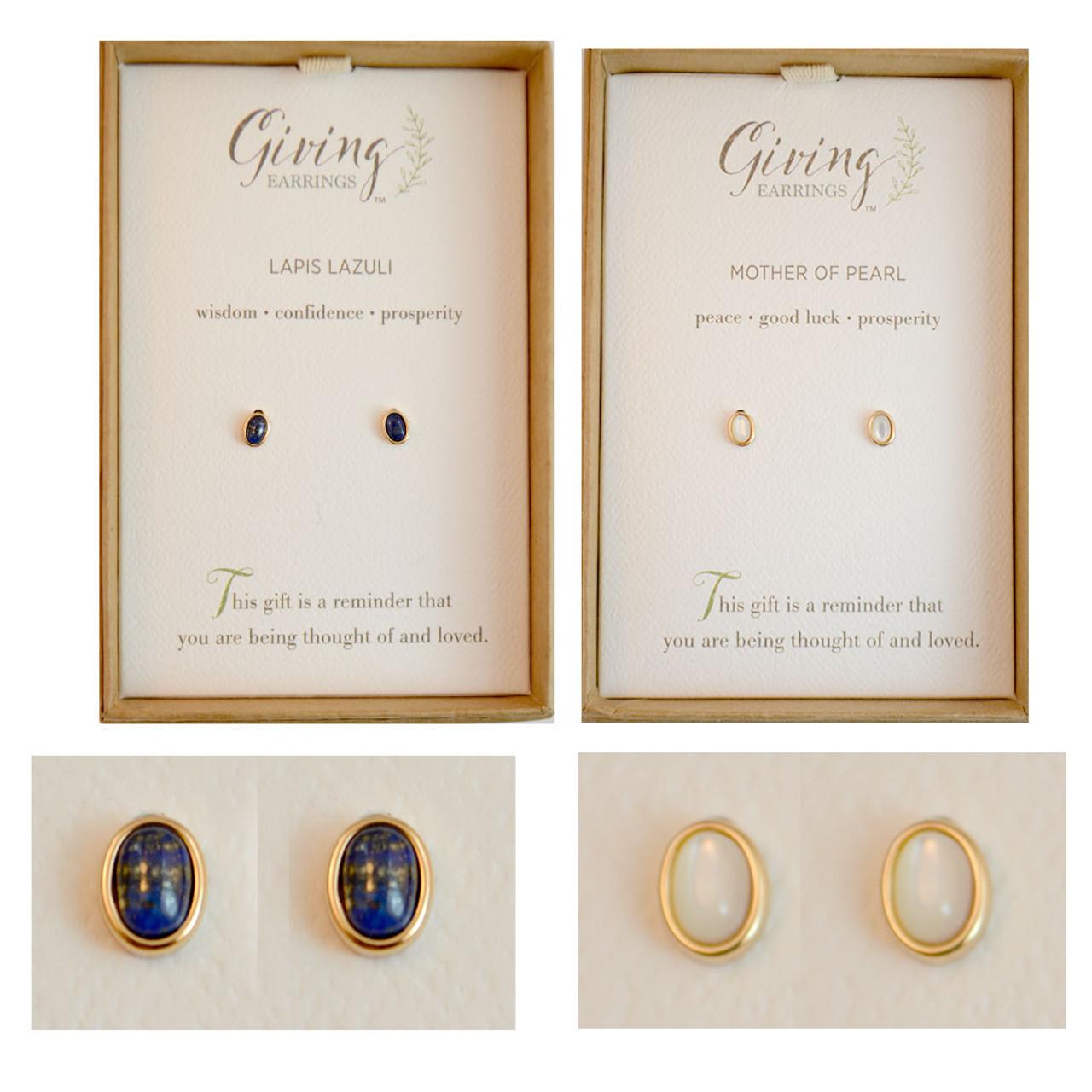 Giving Earrings - Sold Separately