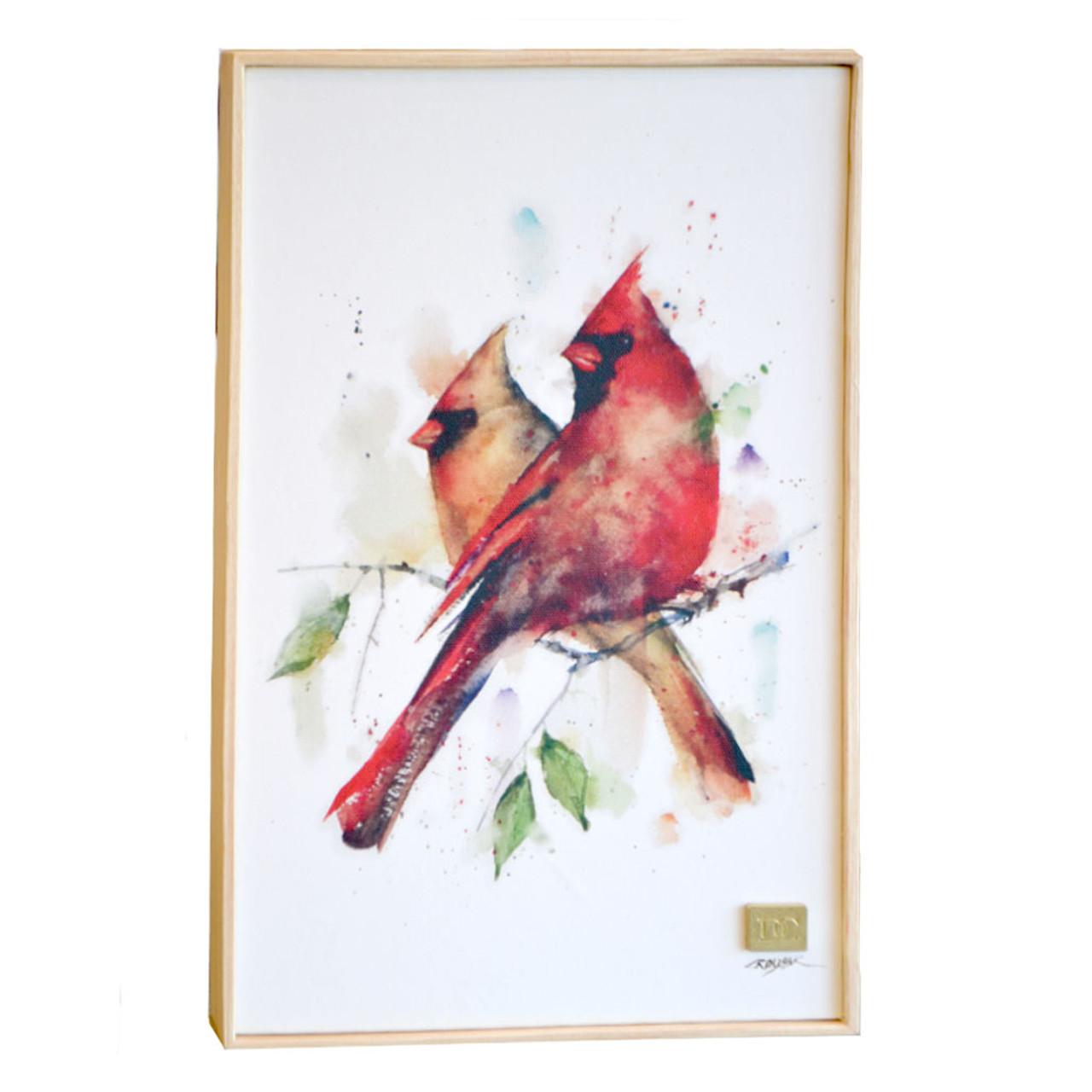 Pair of Cardinals Wall Art