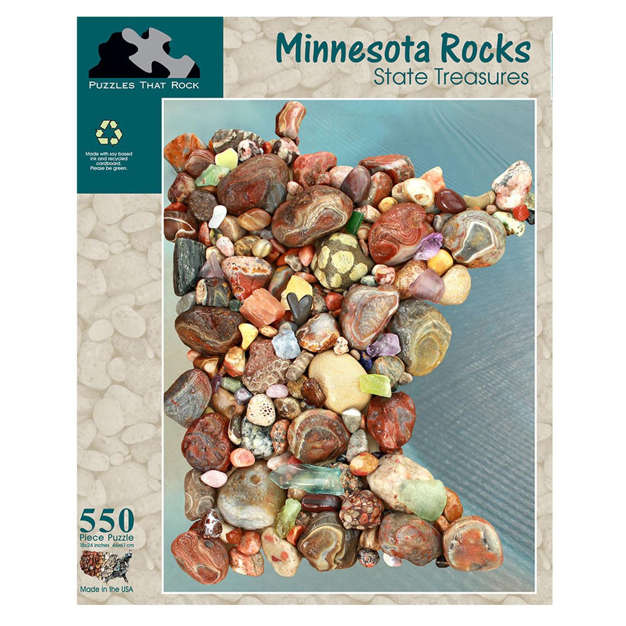 Minnesota Rocks Puzzle
