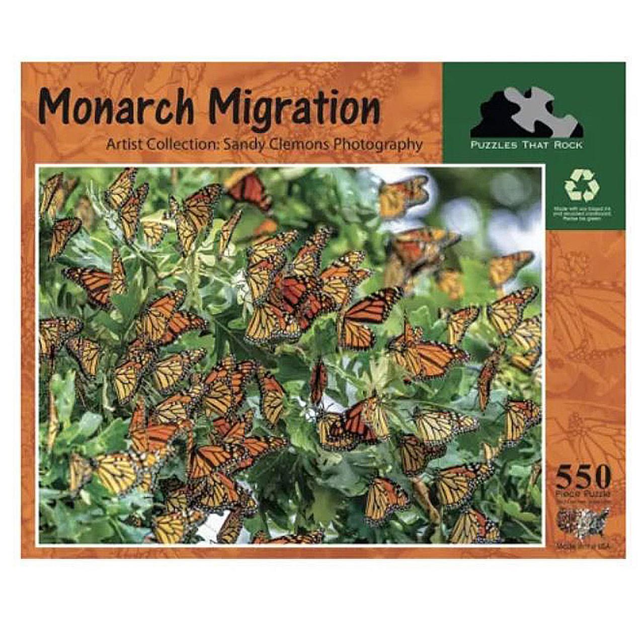 Monarch Migration Puzzle