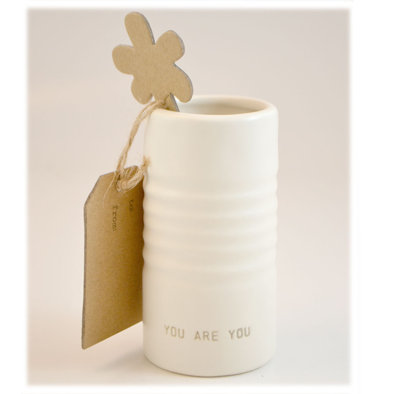 Just Because You are You Vase