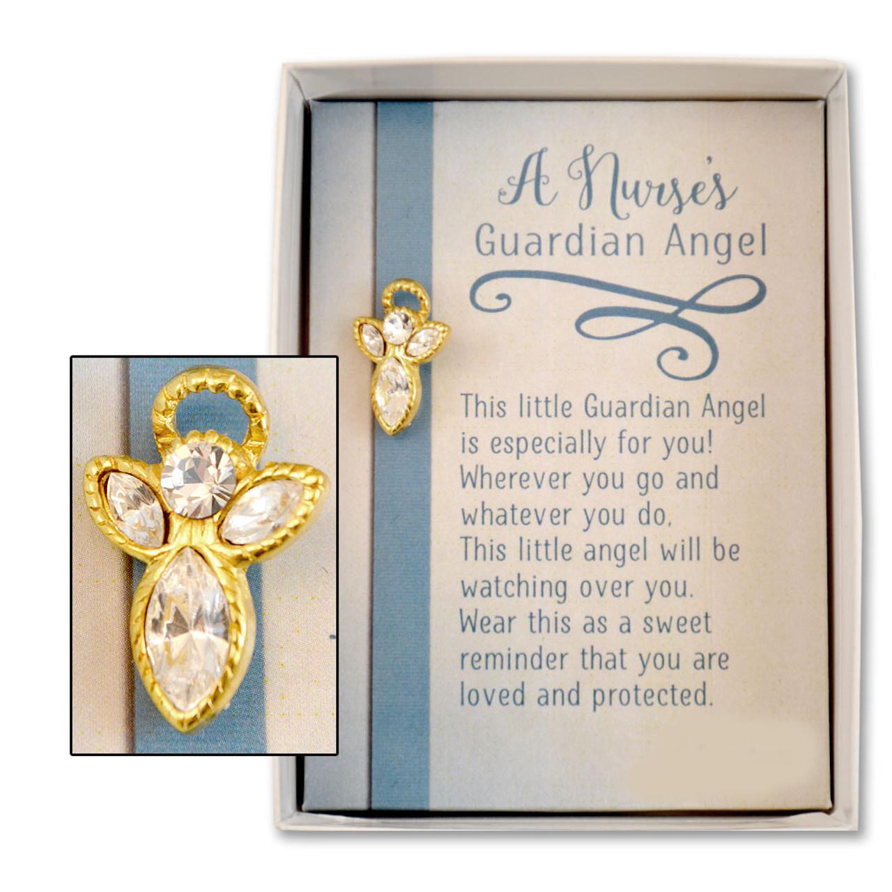 Guardian Angel Pin for Nurses