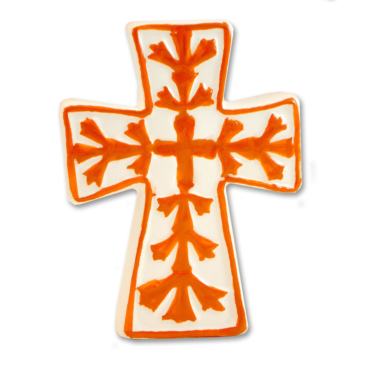 Tabletop Ceramic Crosses - 3 styles sold separately