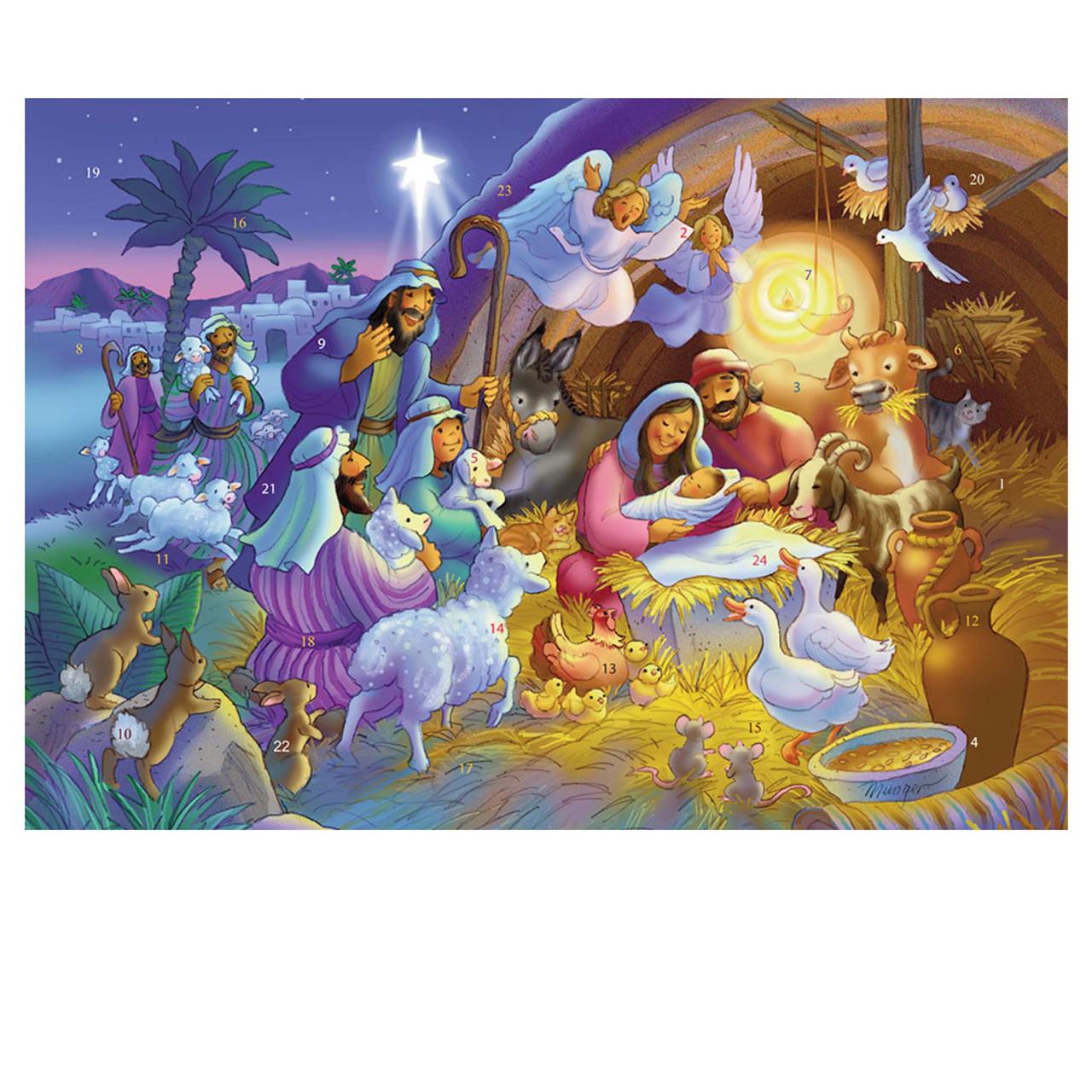 Heavenly Night Advent Calendar
