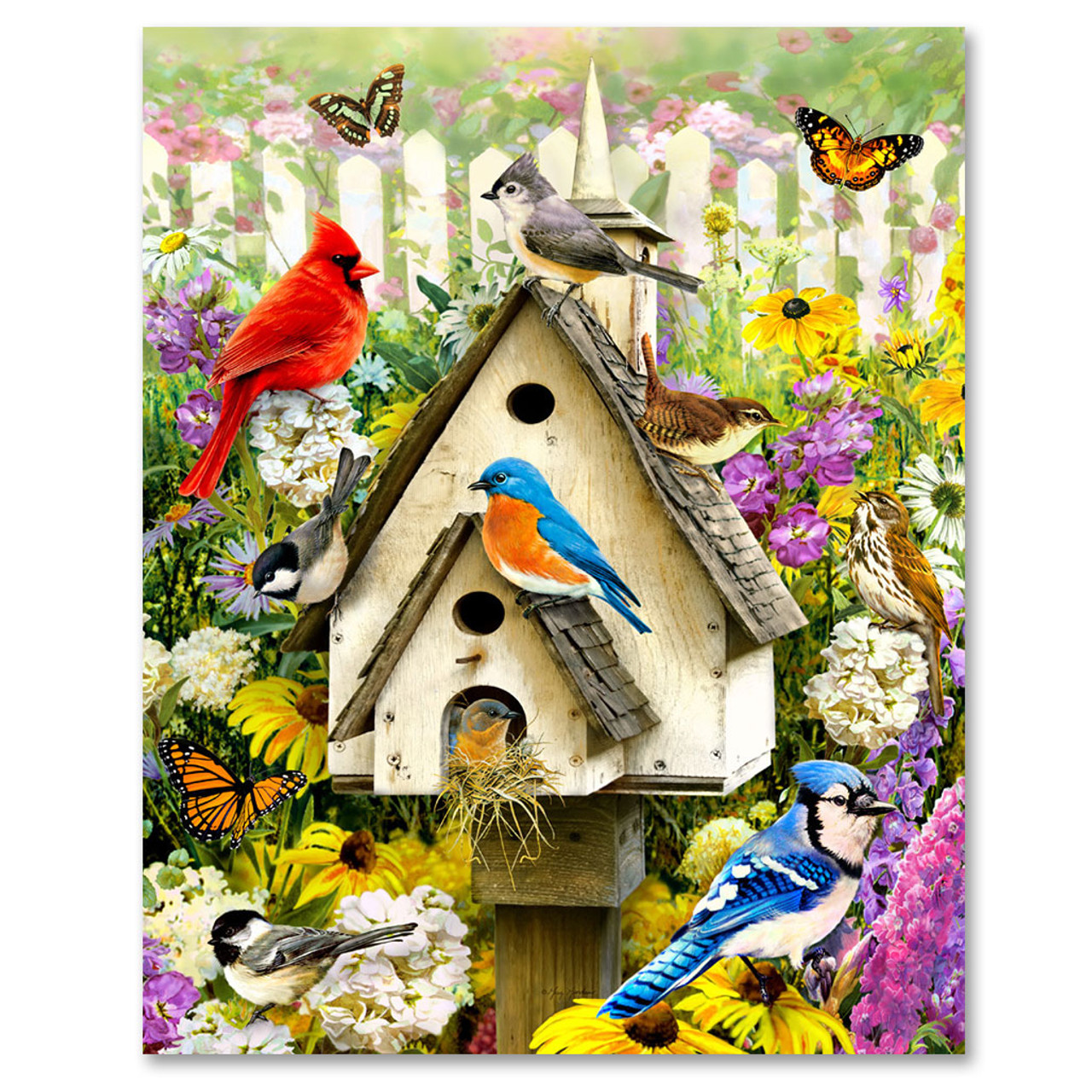 Backyard Birds 1000 Puzzle