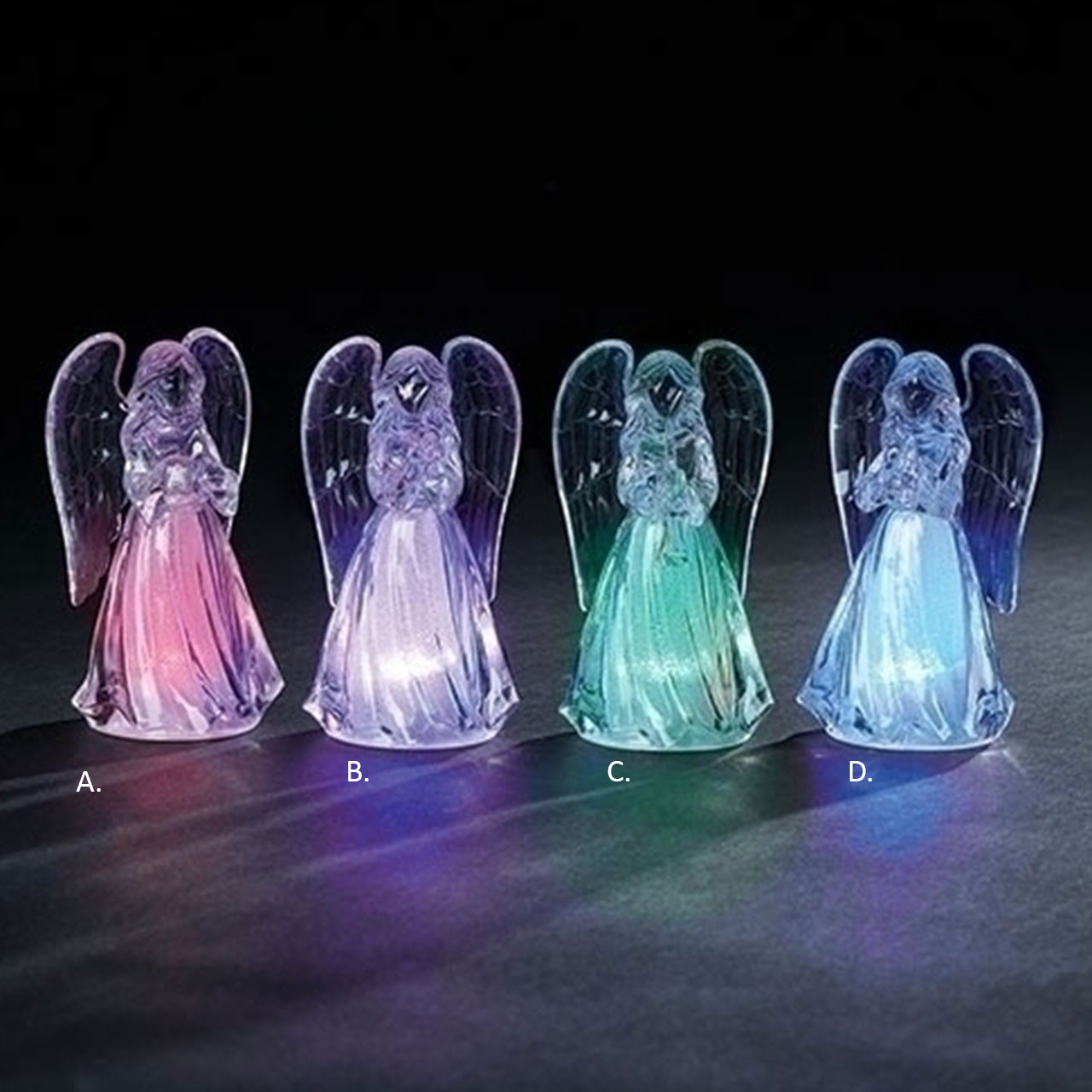 LED Angels - 4 styles sold separately