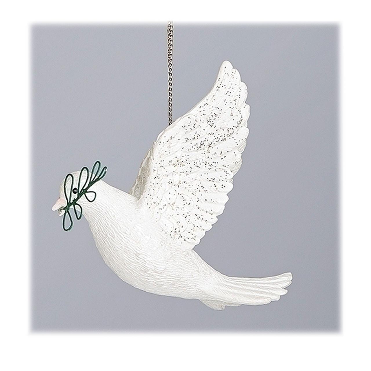 Dove & Olive Branch Ornament