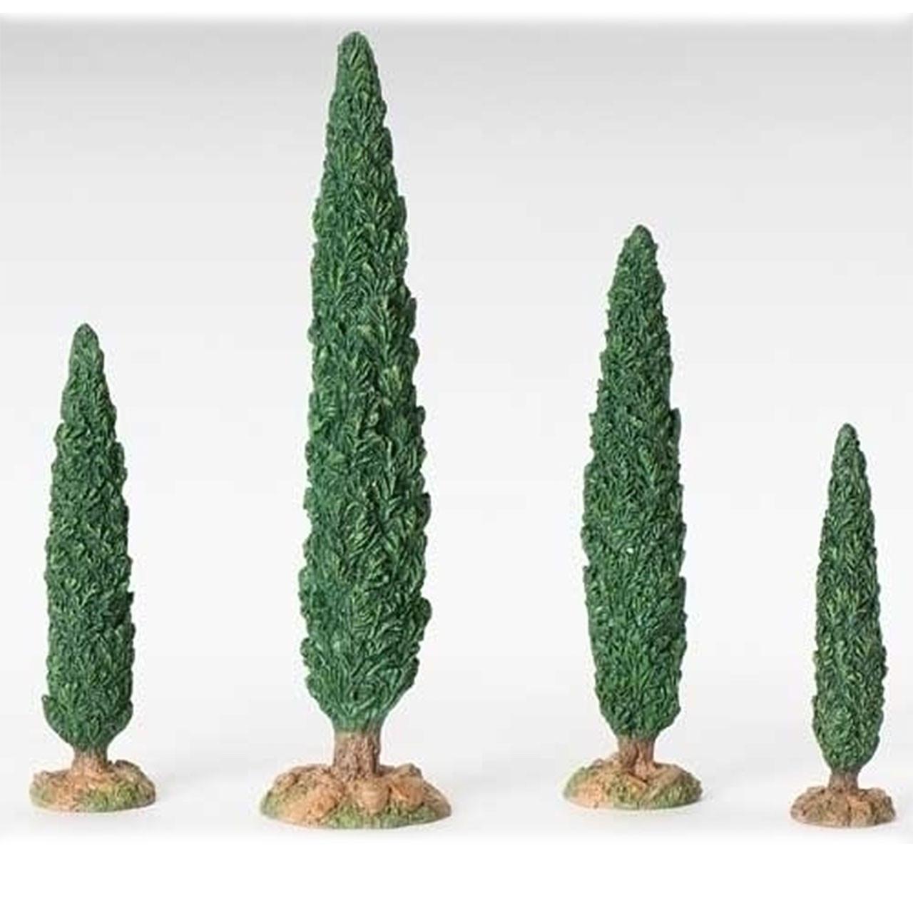 4pc Cypress Tree Fontanini Set