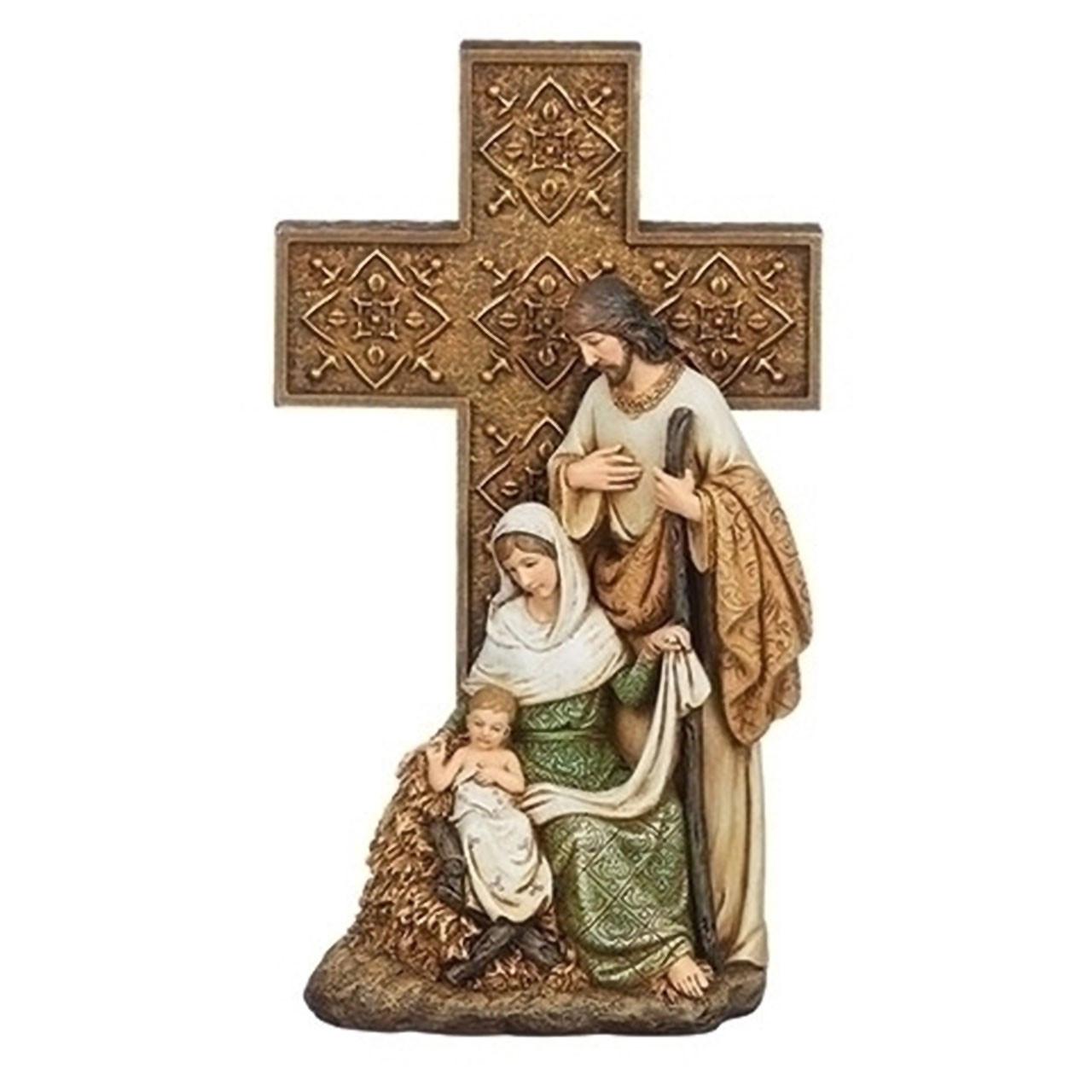 Holy Family On Cross