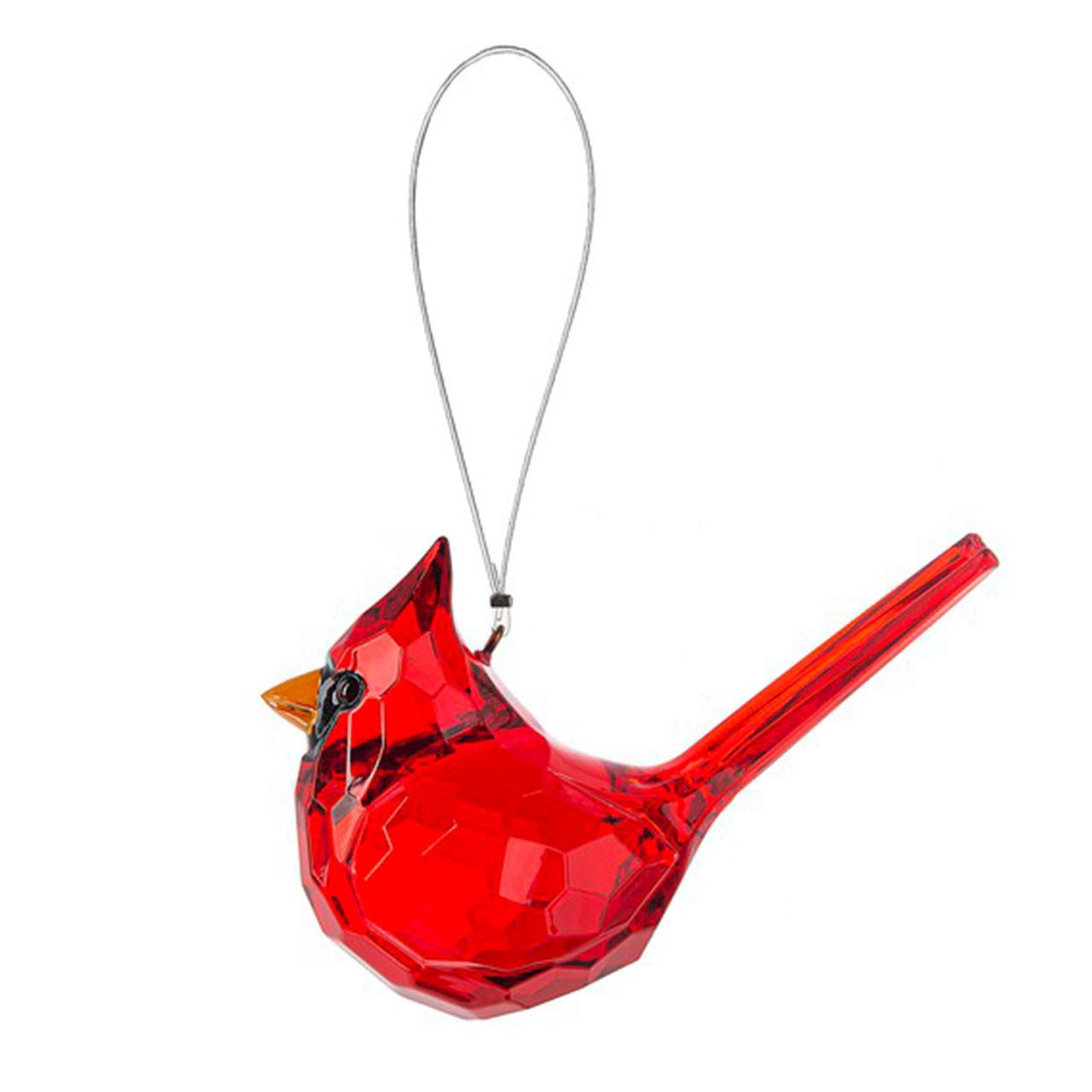 Acrylic Cardinal Ornament