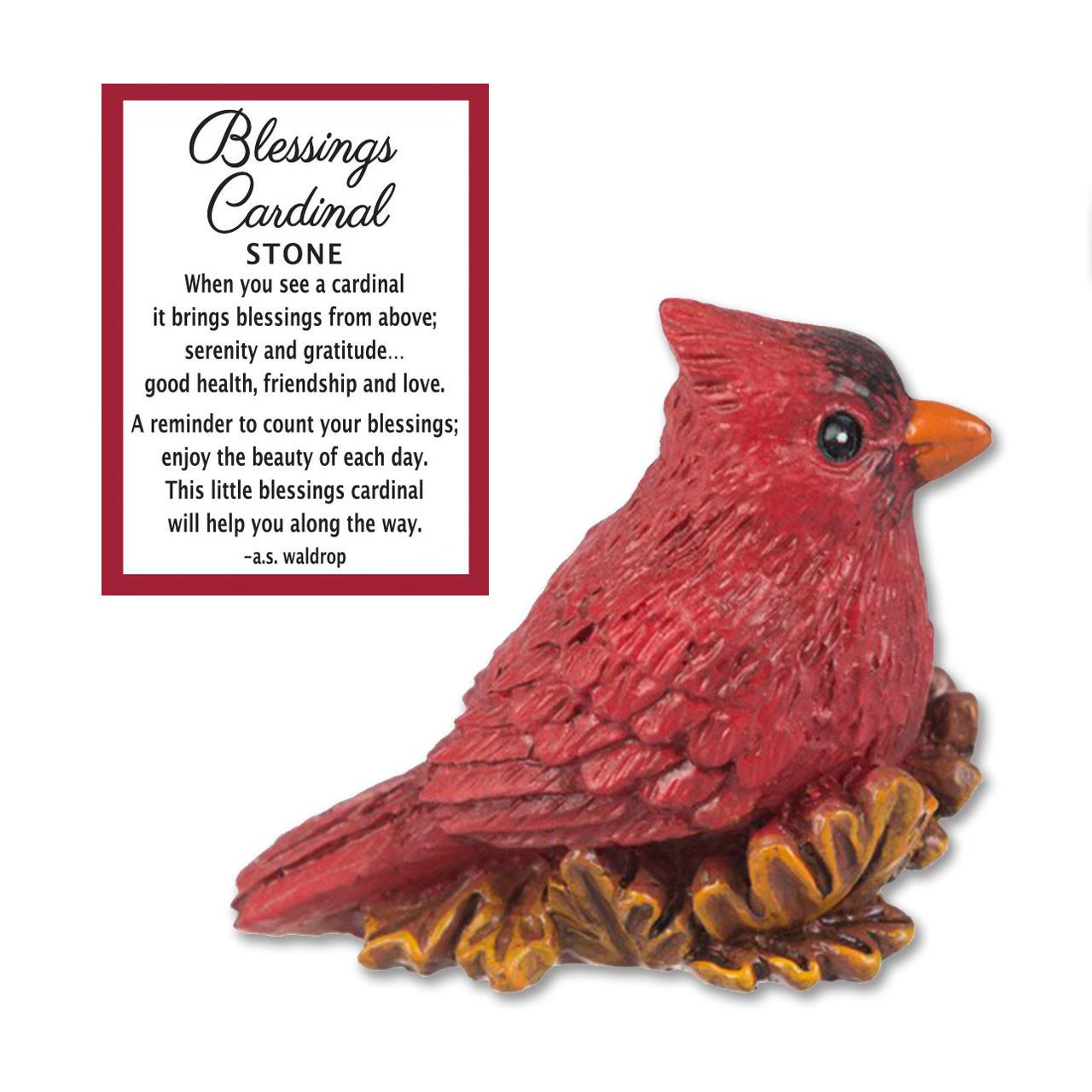 Blessings Cardinal Token