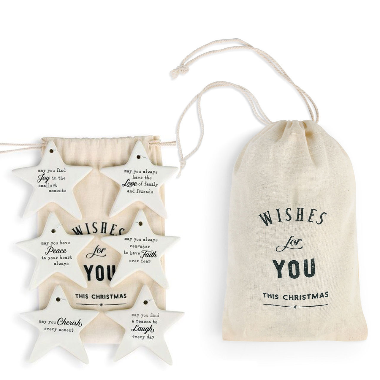 Bag of Christmas Wishes Ornaments