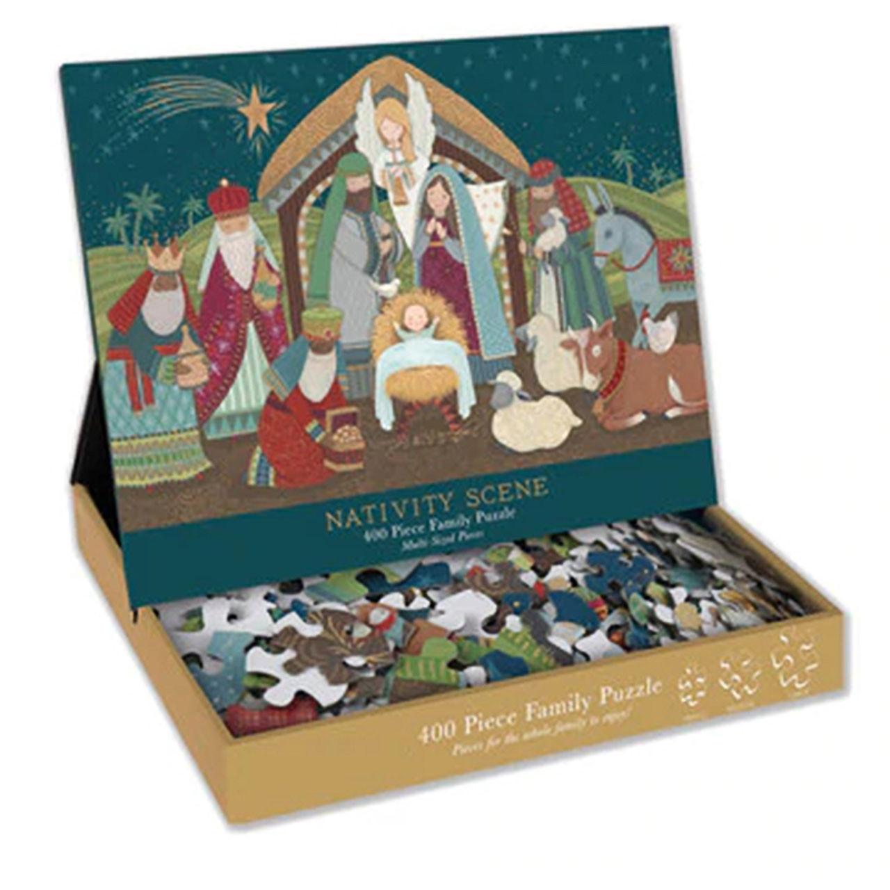 400 Pc Nativity Family Puzzle