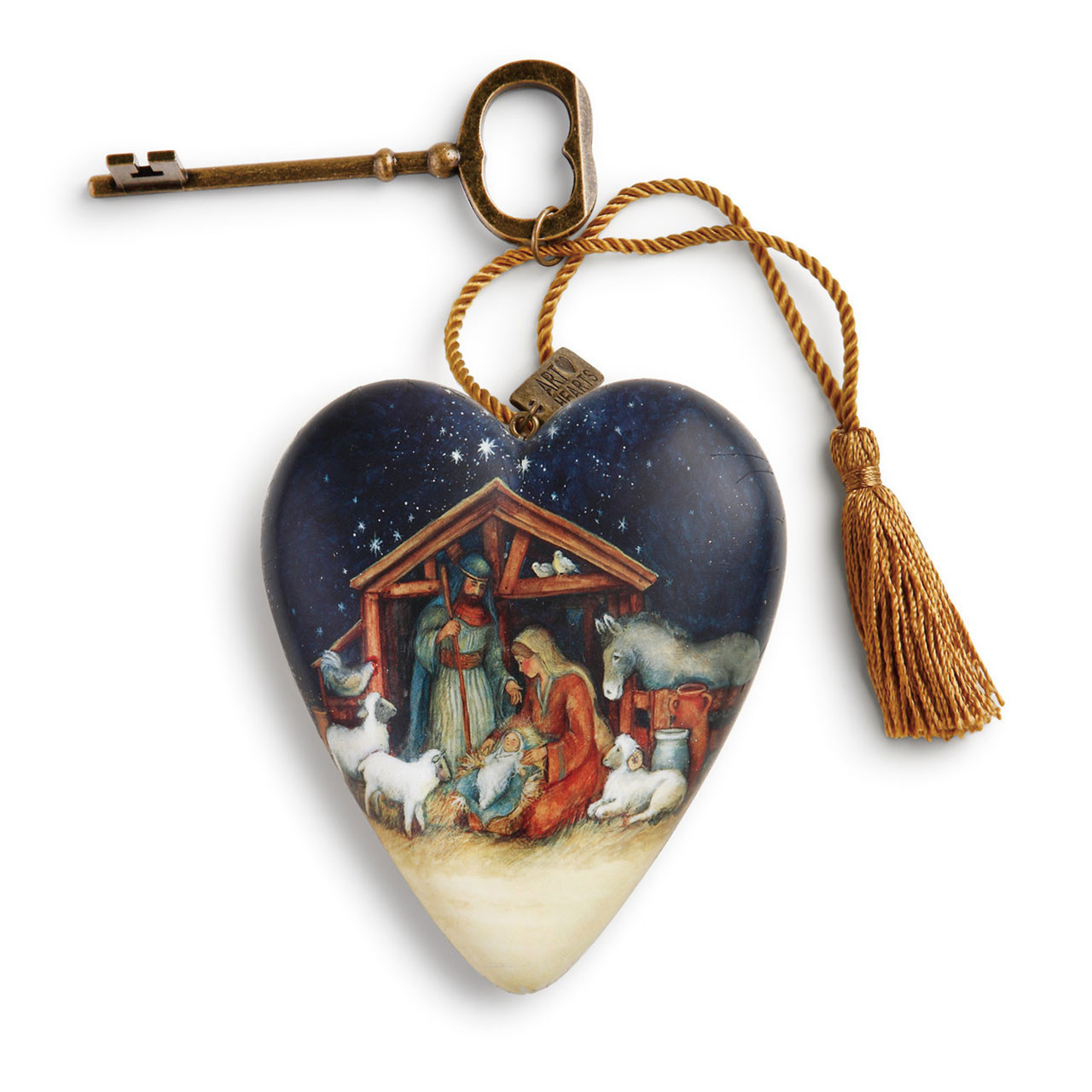 O Holy Night Art Heart