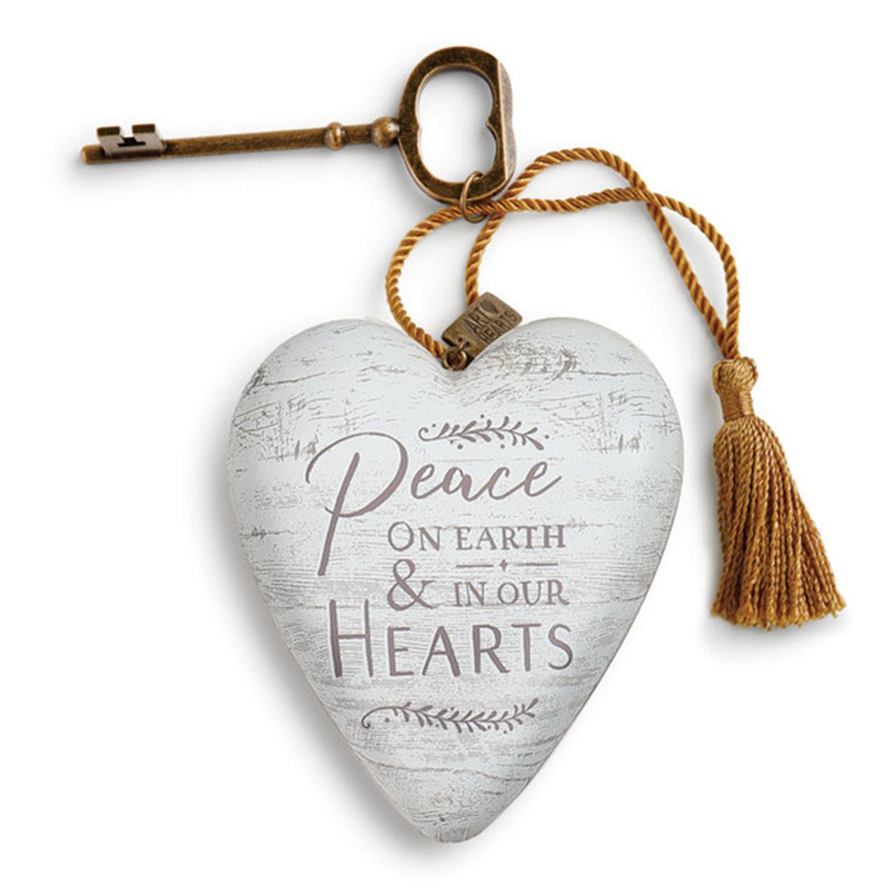 Peace On Earth Art Heart