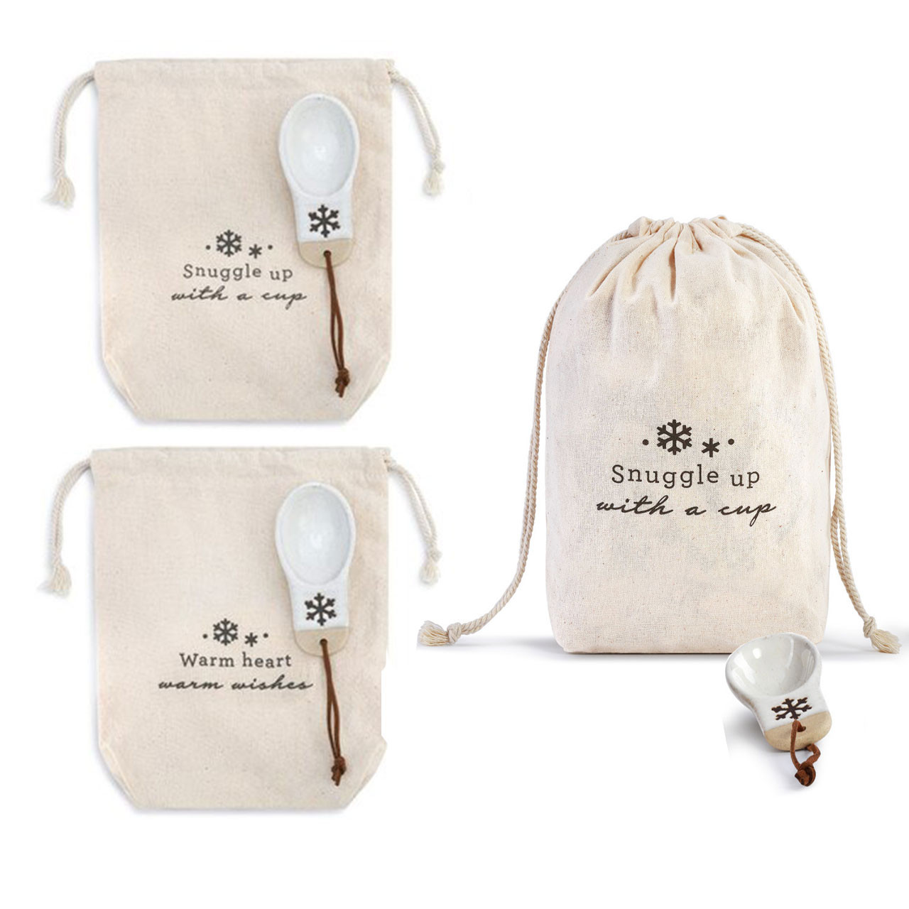 Snowflake Coffee Bags - Sold Separately