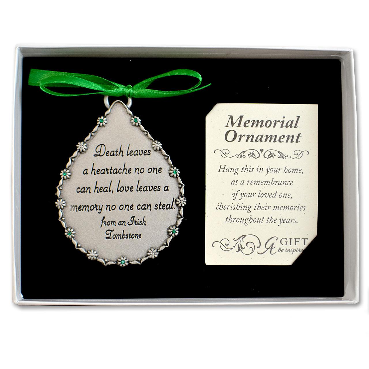 Irish Memorial Ornament