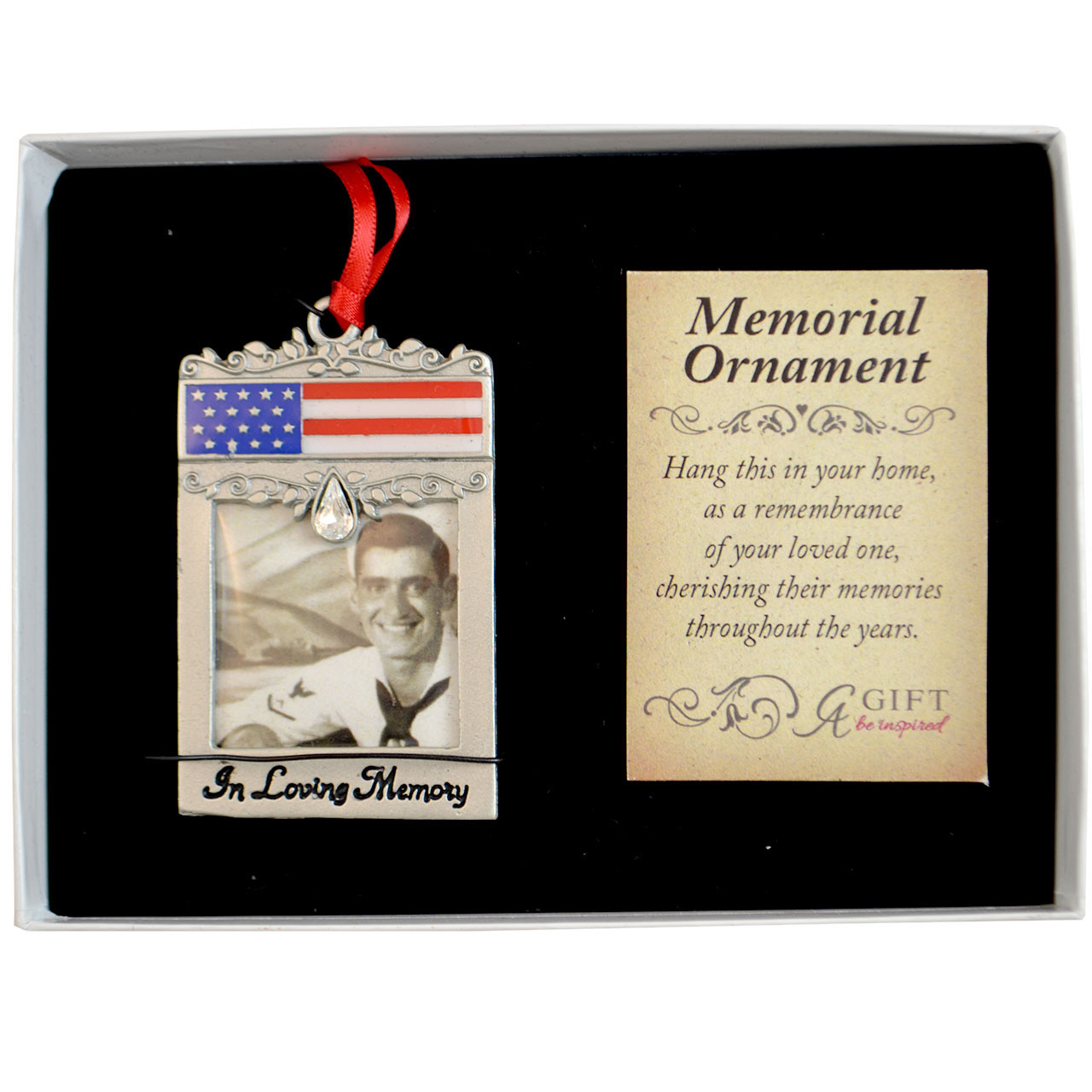 Patriotic Memorial Ornament