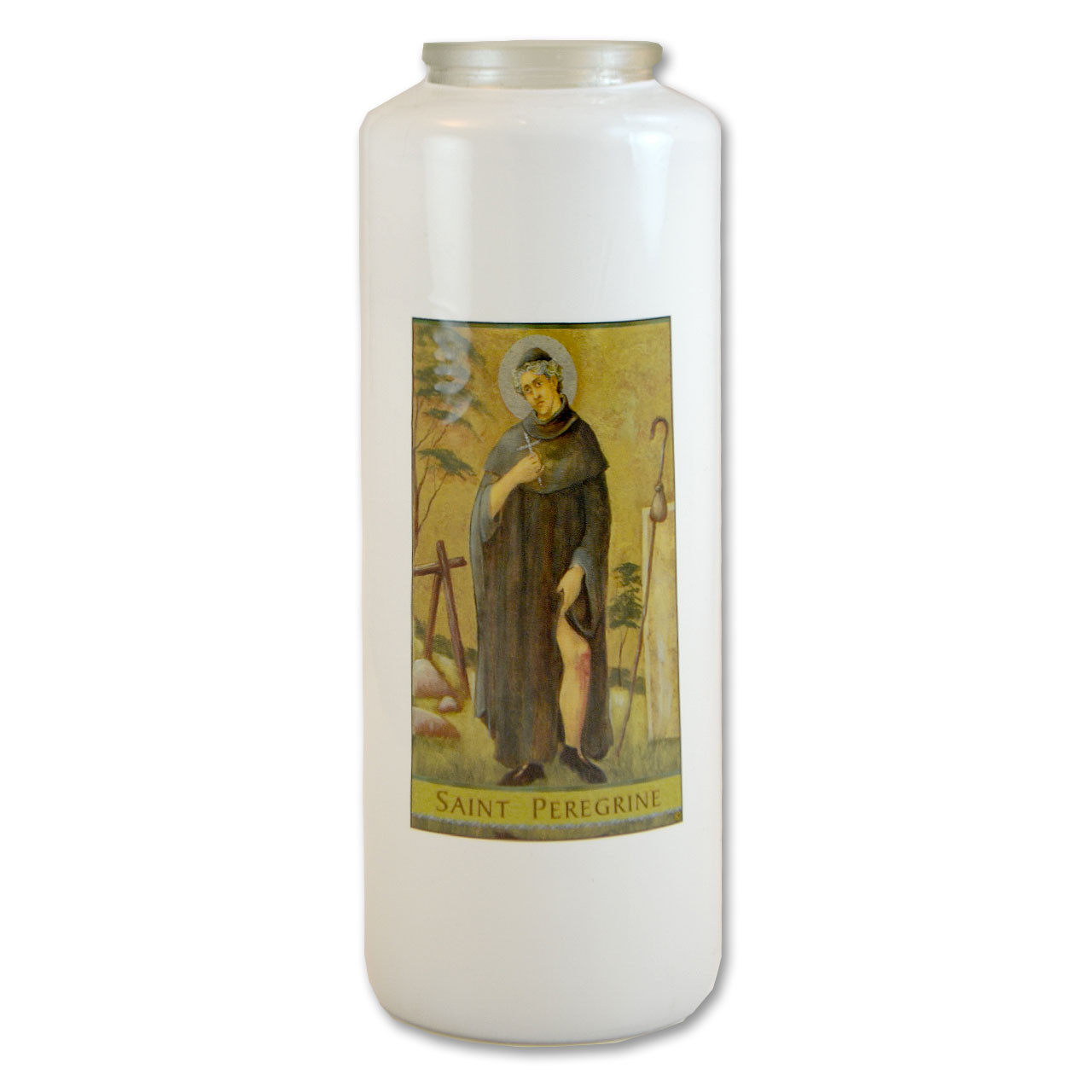 St. Peregrine Votive Candle - 6 day