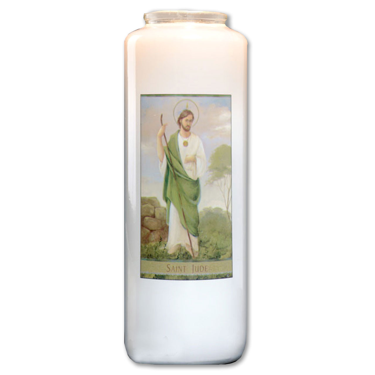 St. Jude Votive Candle - 6 day
