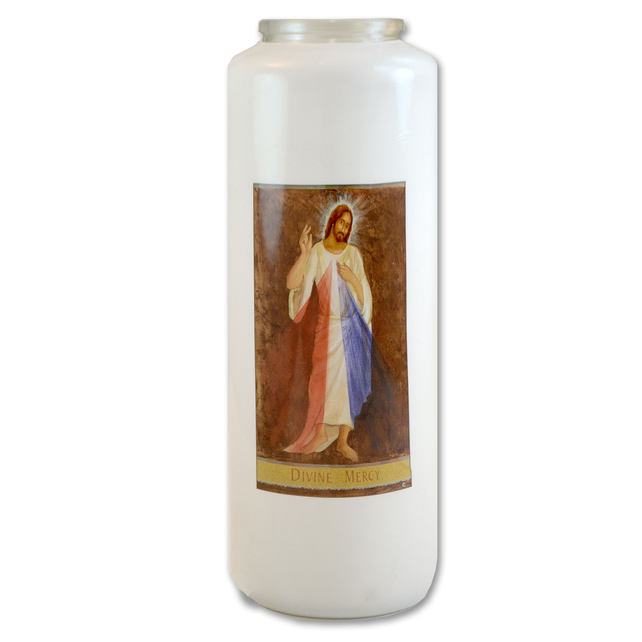 Divine Mercy Votive Candle - 6 day