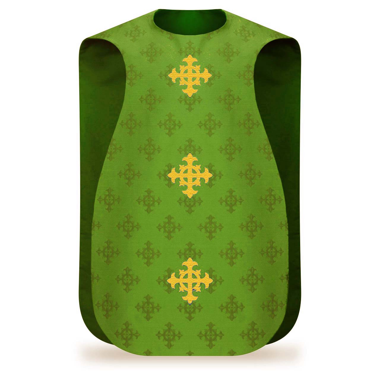 299-3978 Green Roman Style Chasuble