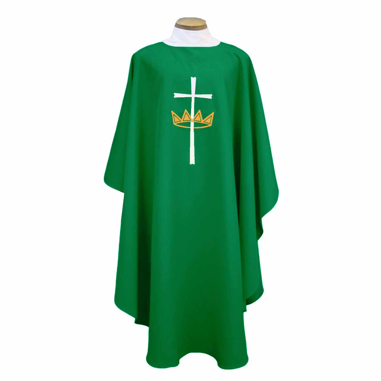 842 Green Chasuble from Beau Veste
