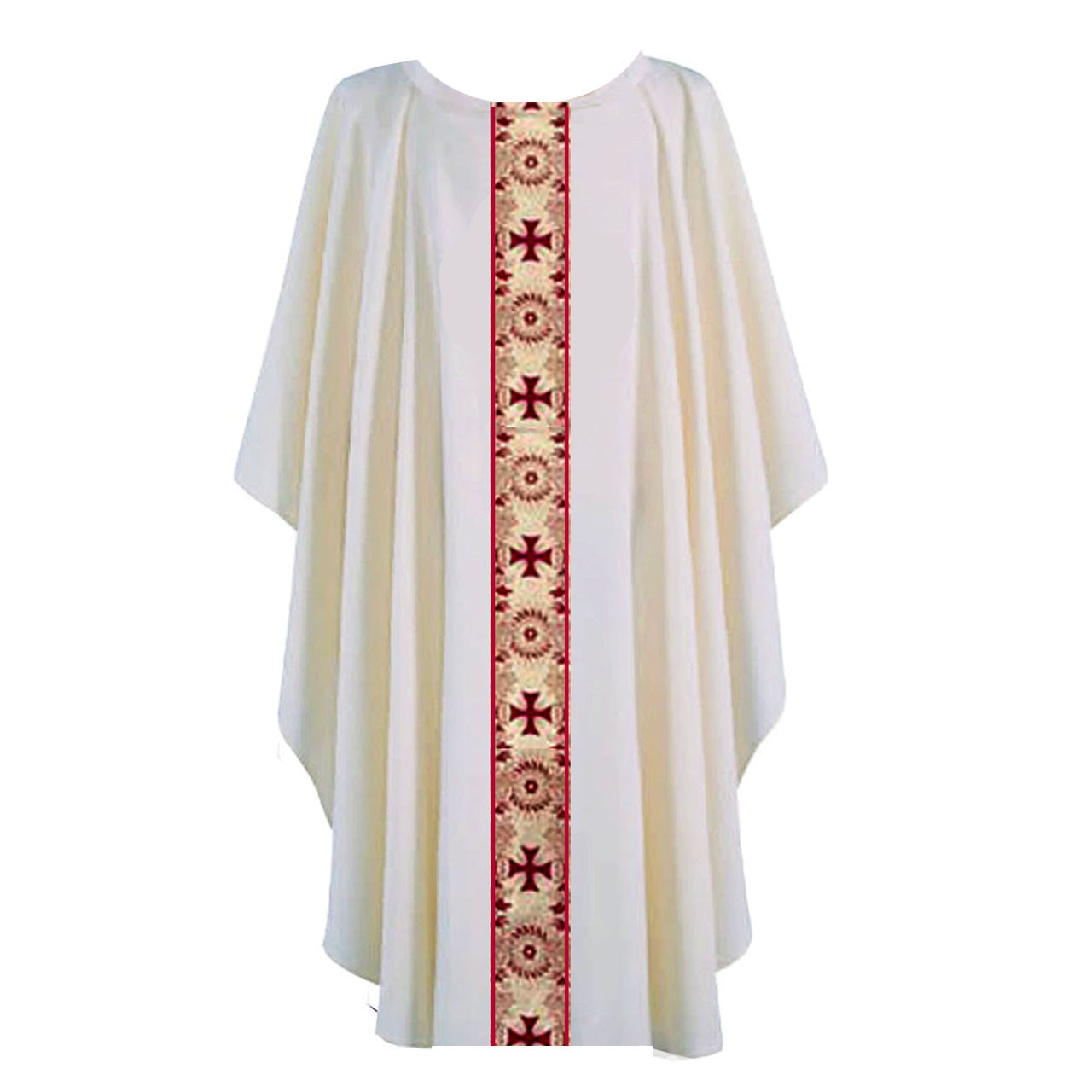 850 Off White Chasuble from Harbro
