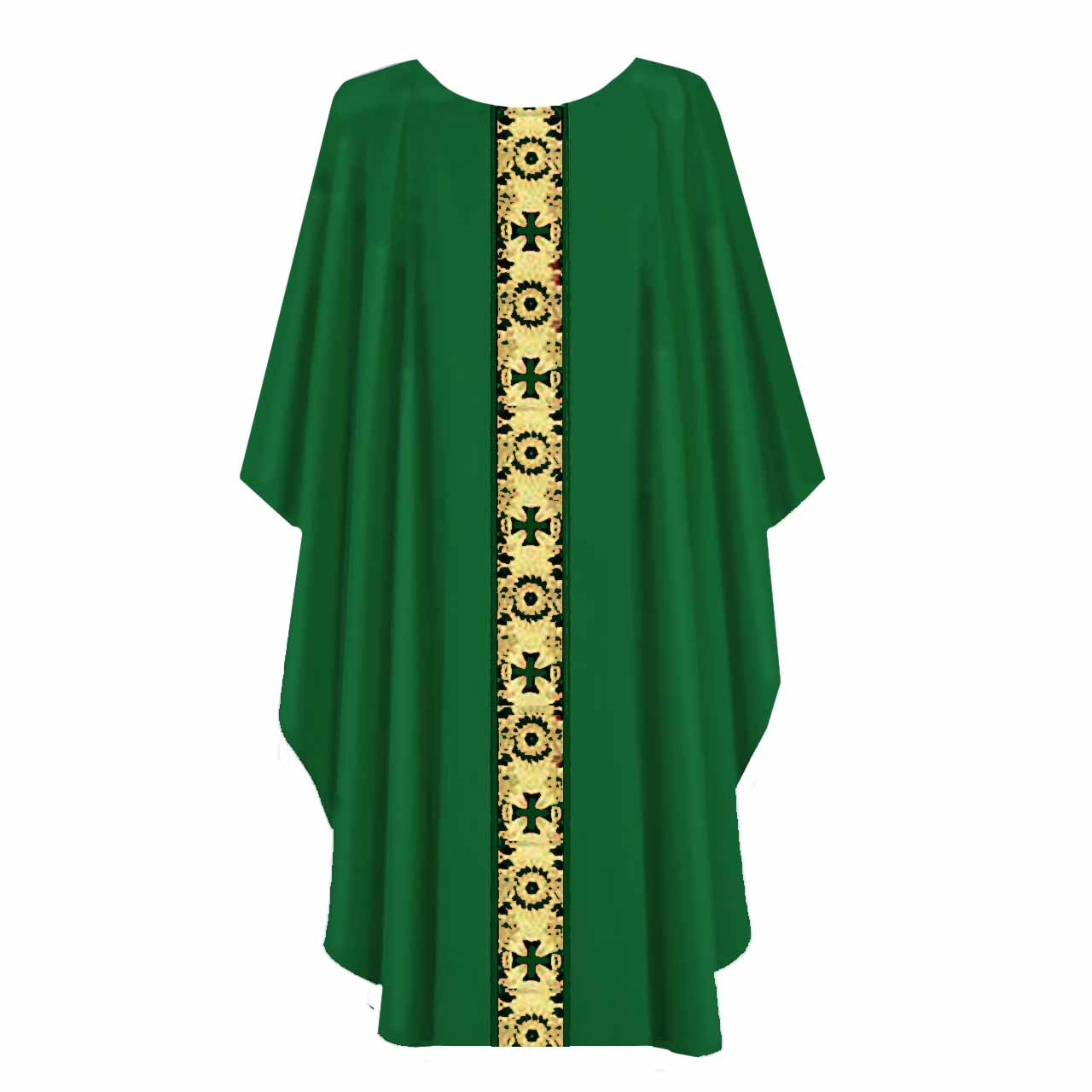 850 Green Chasuble from Harbro