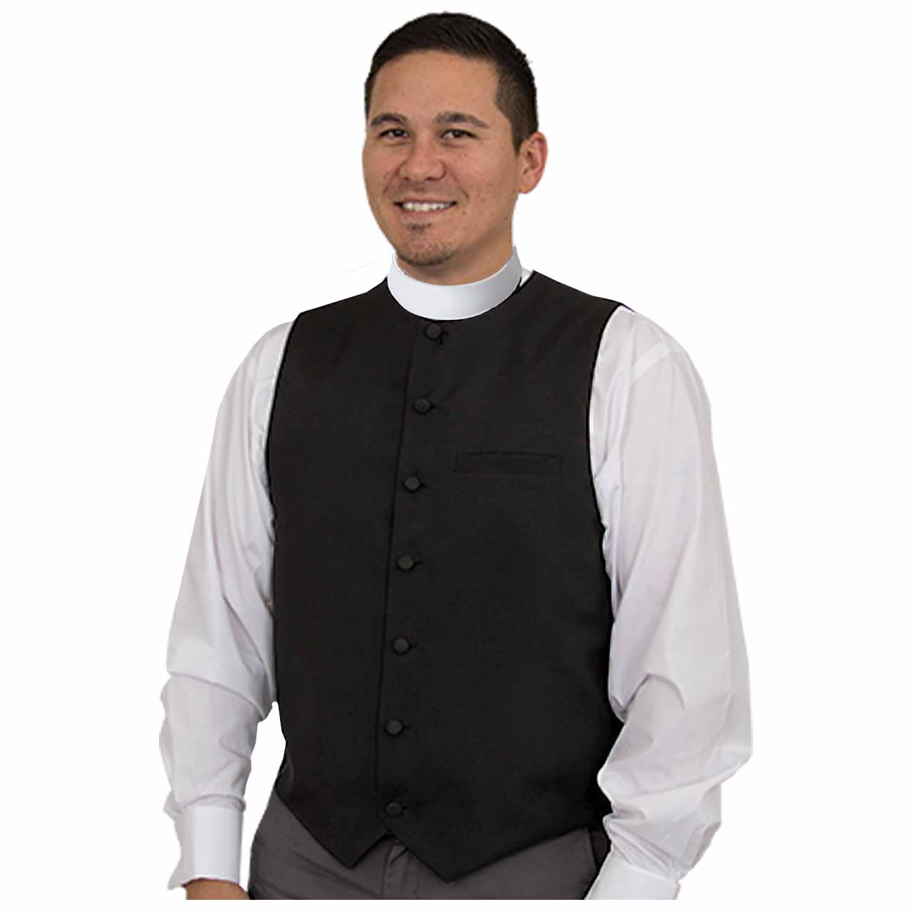 H-117 Collarless Clergy Vest from Murphy Robes
