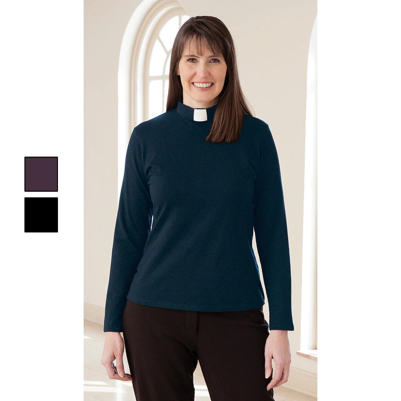 3410 Long Sleeve Knit Tab Shirt Dk Teal