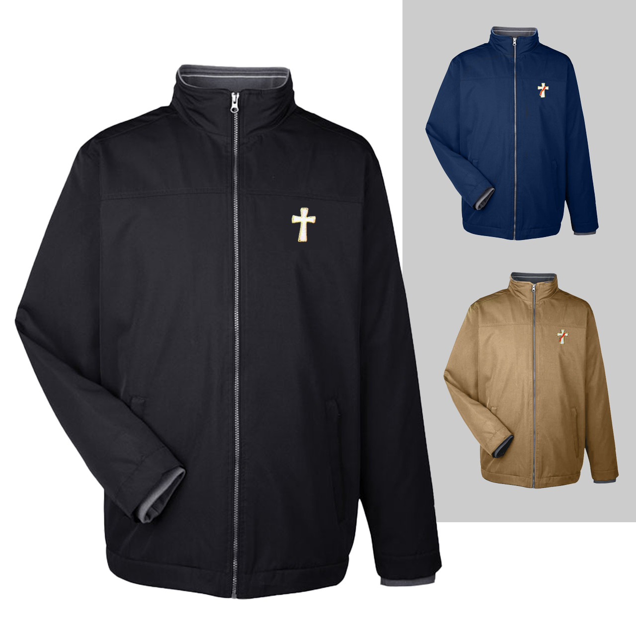 BV Men's All-Weather Clergy Jacket
