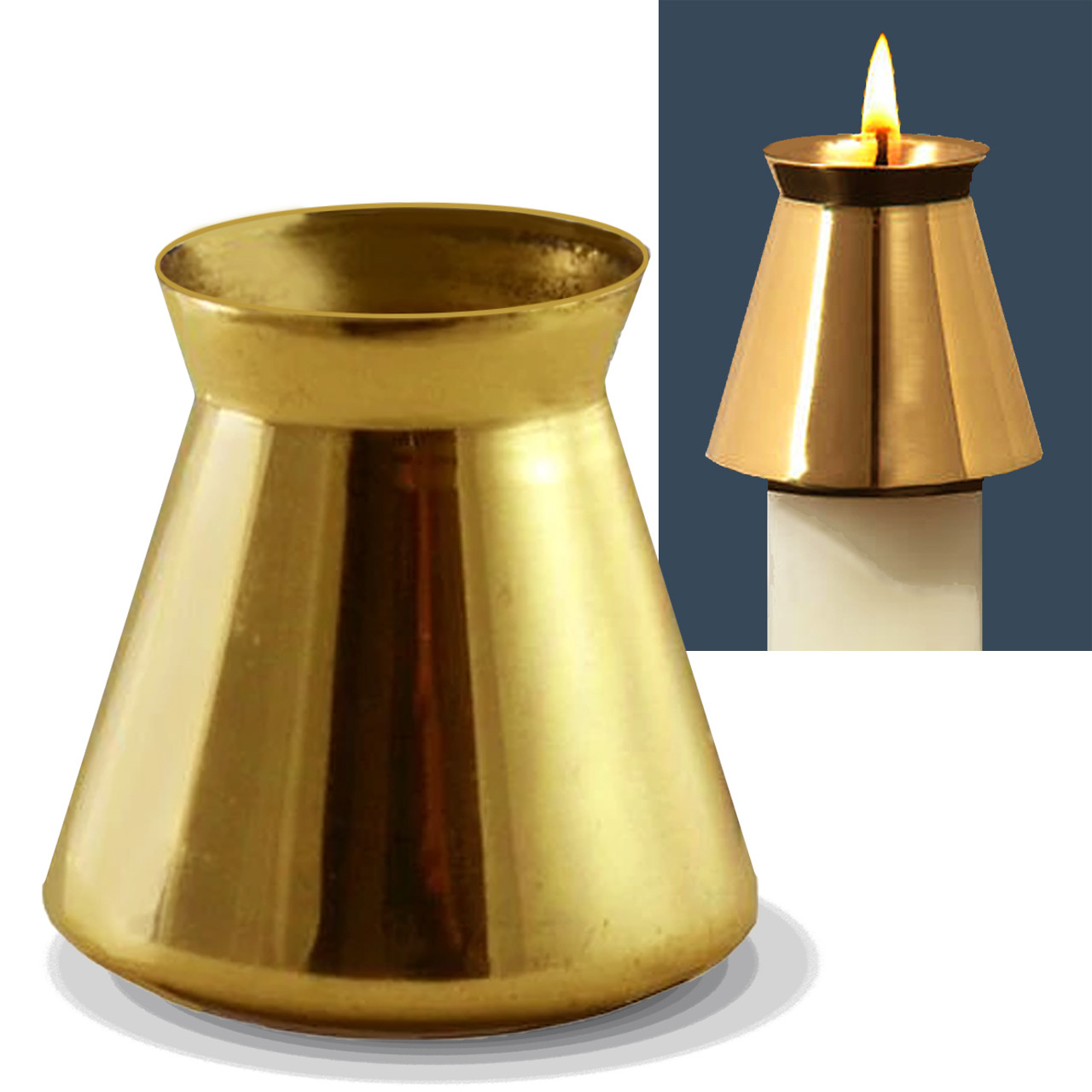 CA Brass New Style Follower