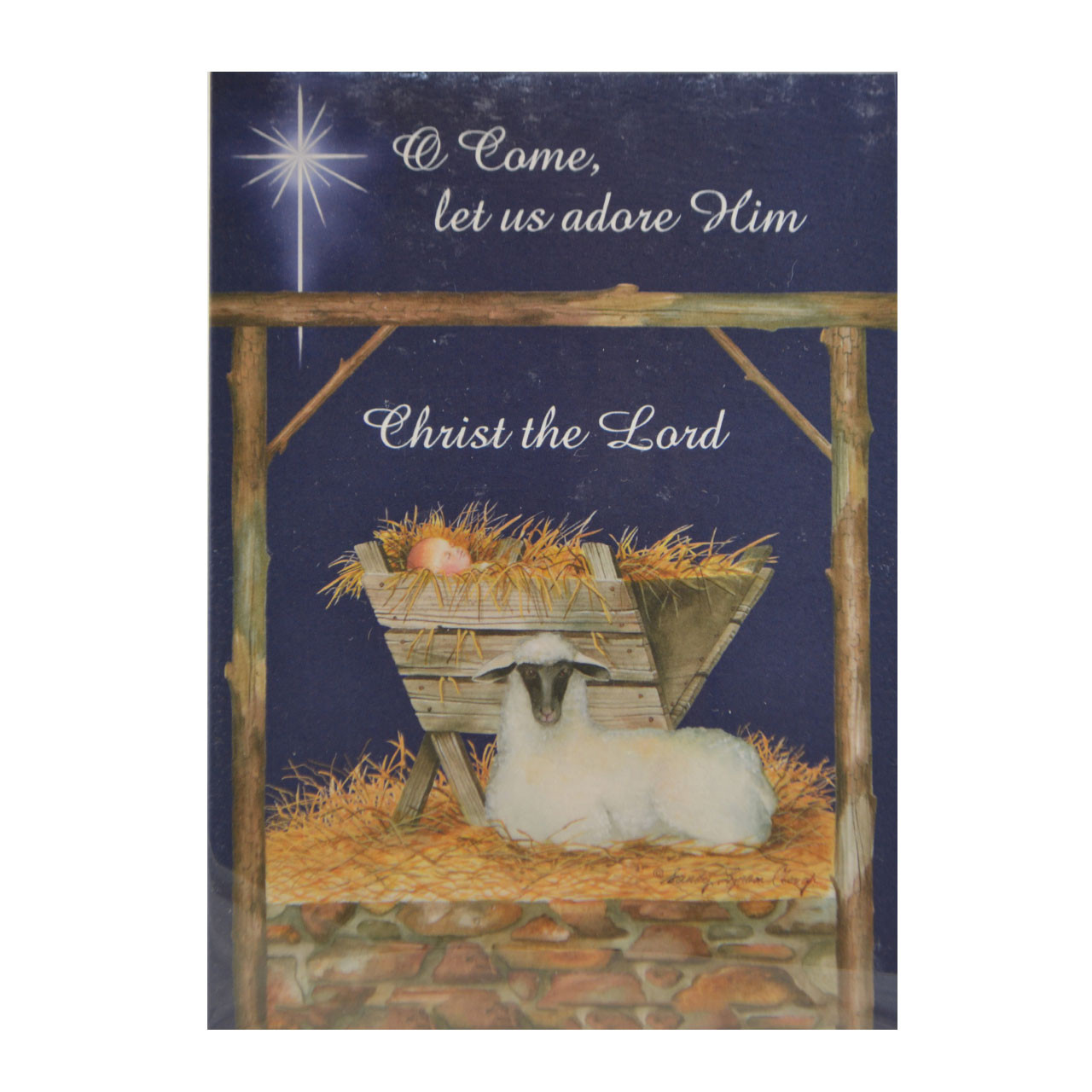 O Come Let Us Adore Him Boxed Christmas Cards